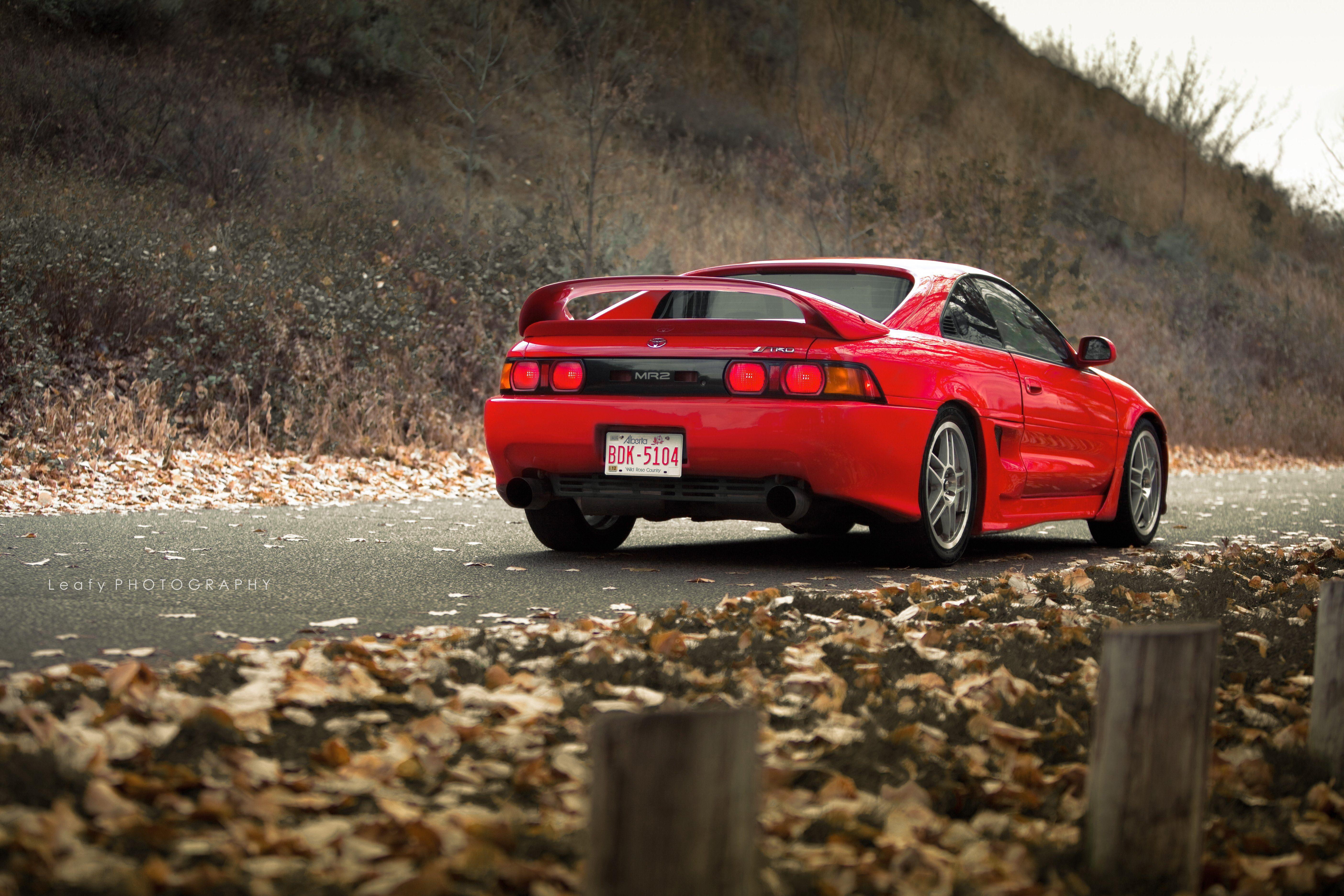 Toyota MR2 coupe spider japan tuning cars wallpapers