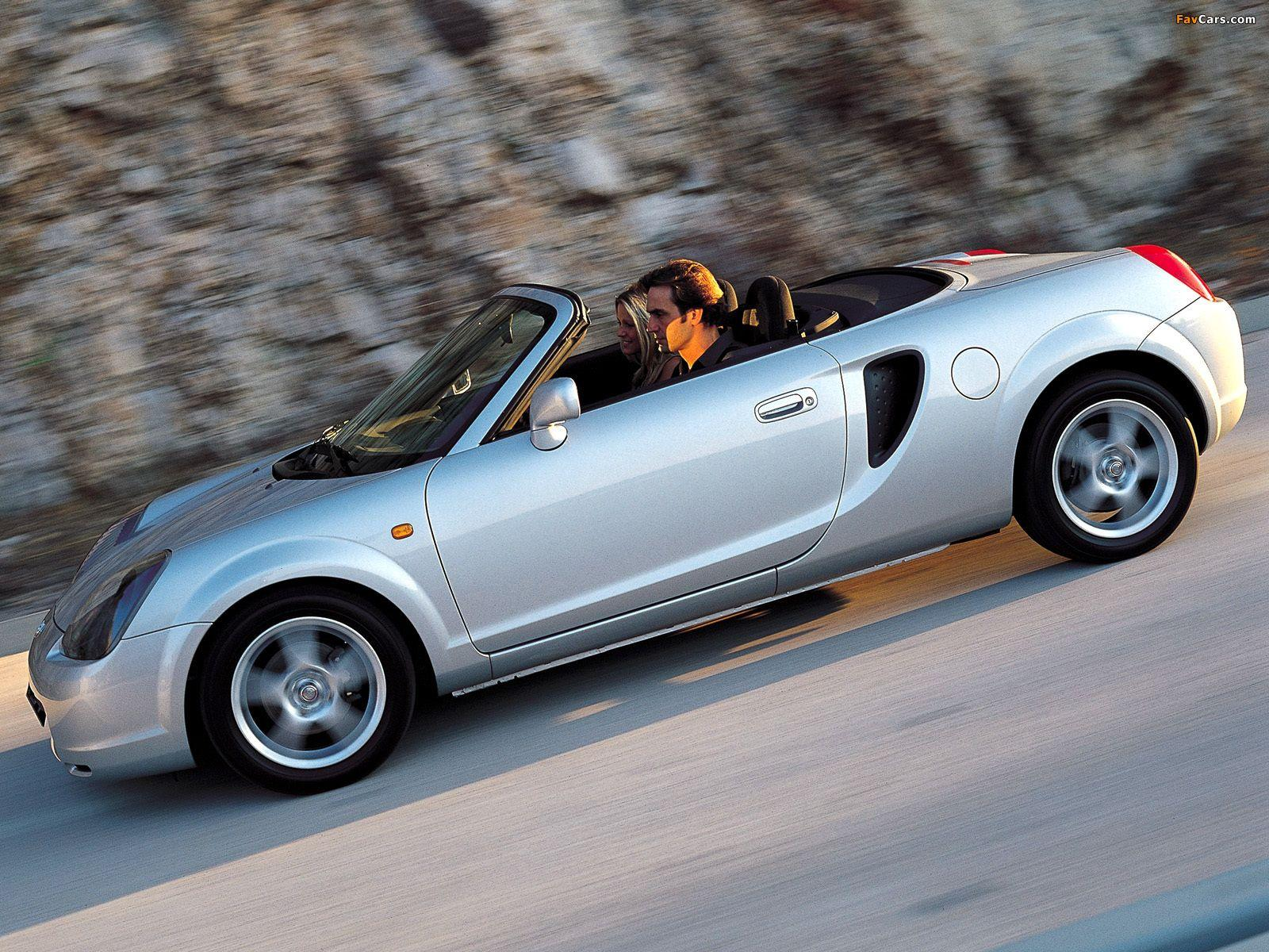 Toyota MR2 Roadster 1999–2002 wallpapers