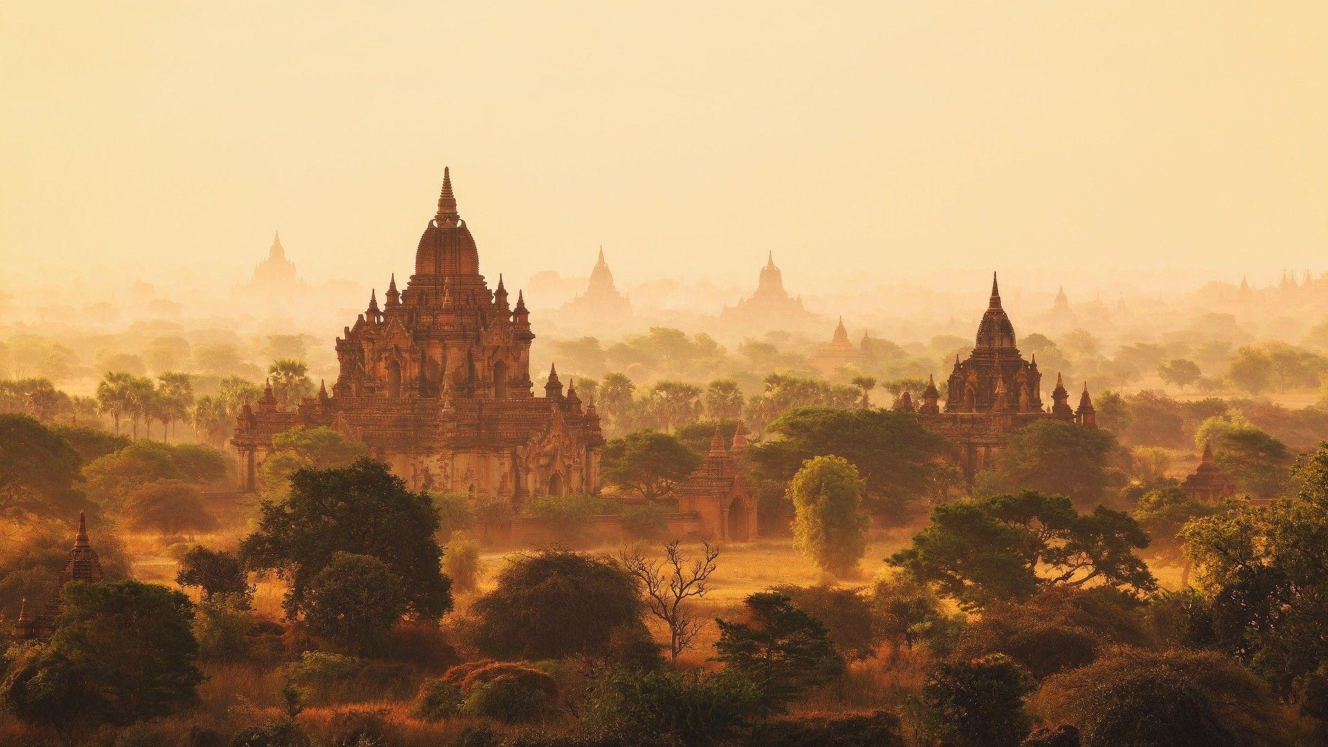 artwork, Painting, Myanmar, Burma Wallpapers HD / Desktop and
