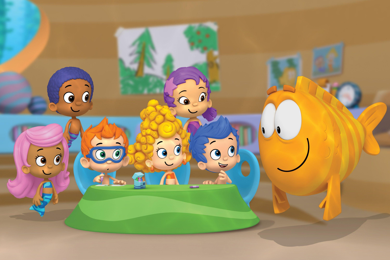 Bubble Guppies Teams Background