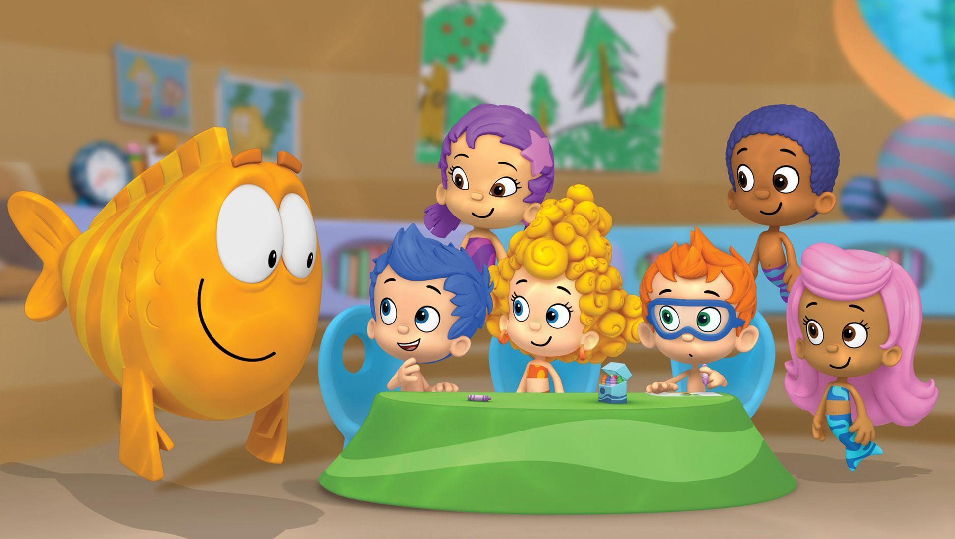 Bubble Guppies Teams Background 5