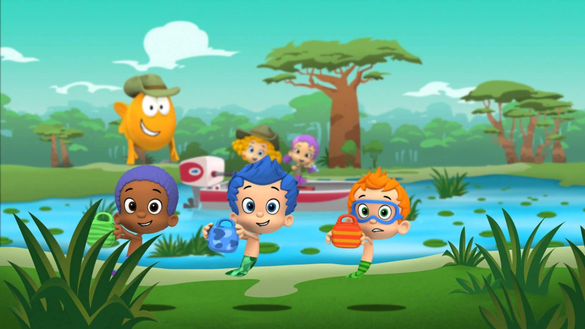 Bubble Guppies Teams Background 6