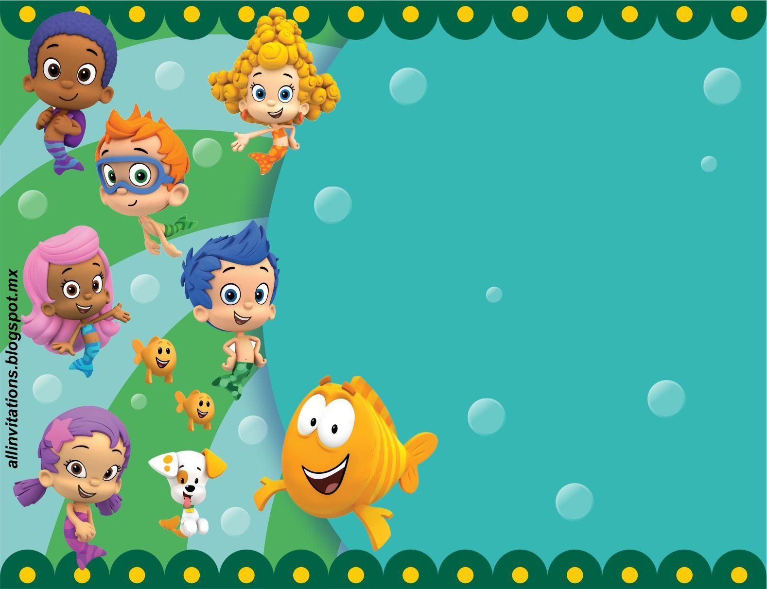 Bubble Guppies Background 7