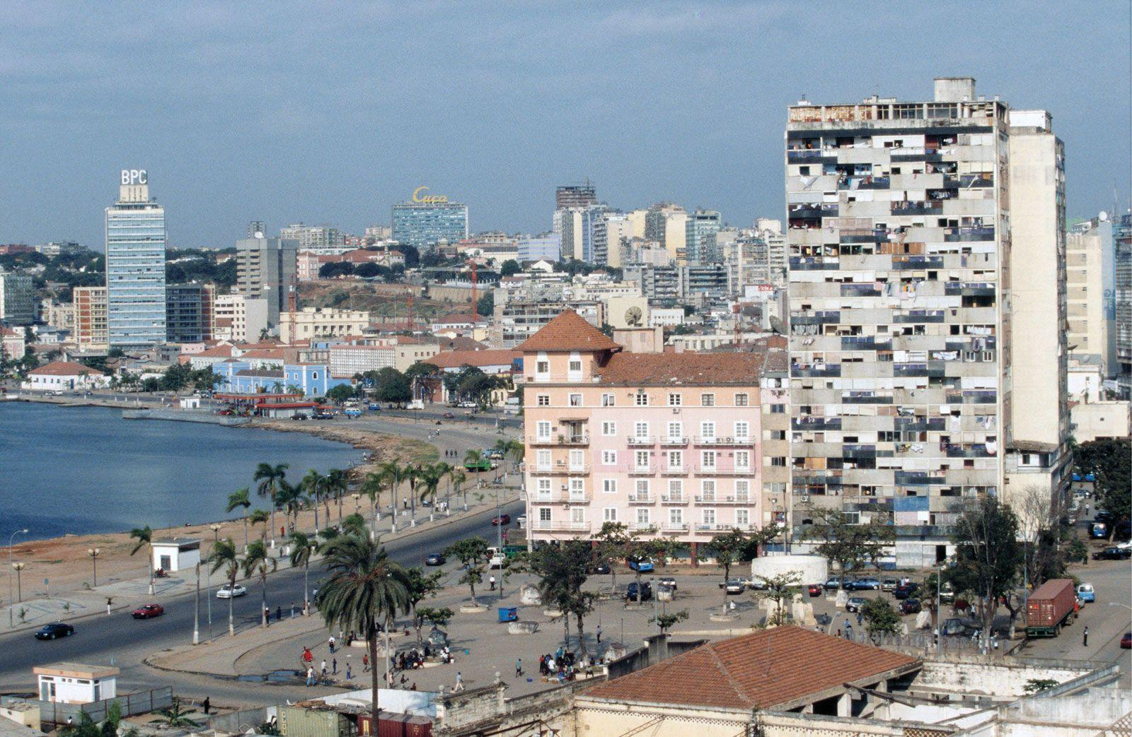 Luanda is the capital and largest city of Angola. Located on ...