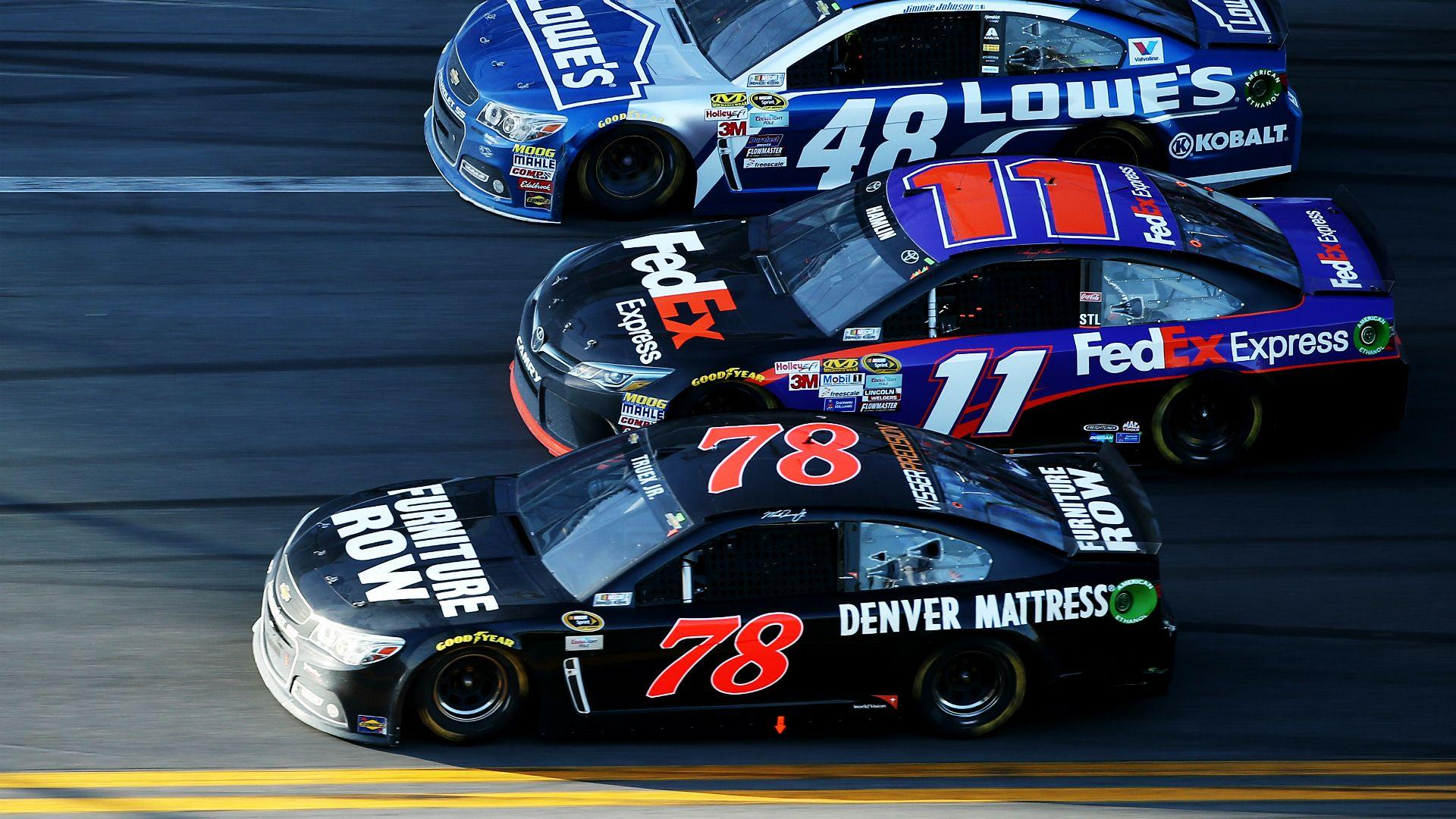 Through two races, things looking pretty good for Martin Truex Jr