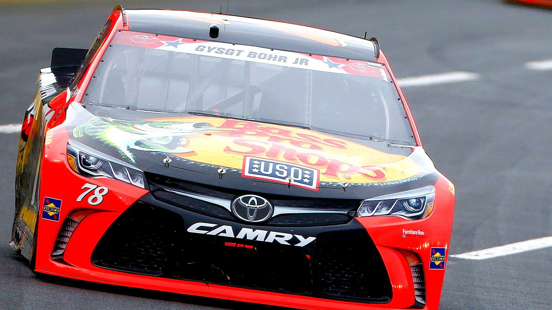 Martin Truex Jr., car to beat at Charlotte, masters first half of