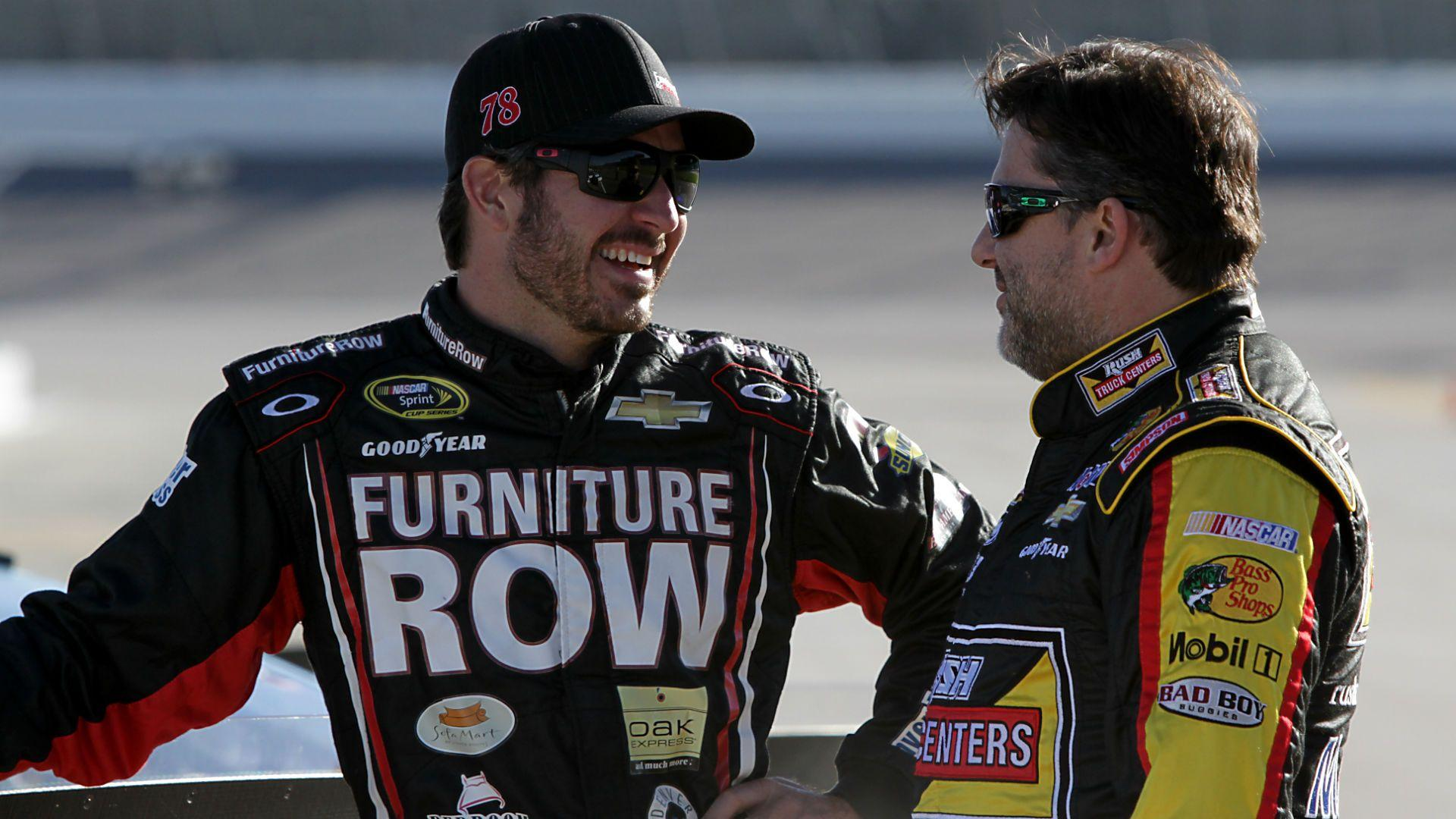 Martin Truex Jr. says Tony Stewart apologized for going off on him