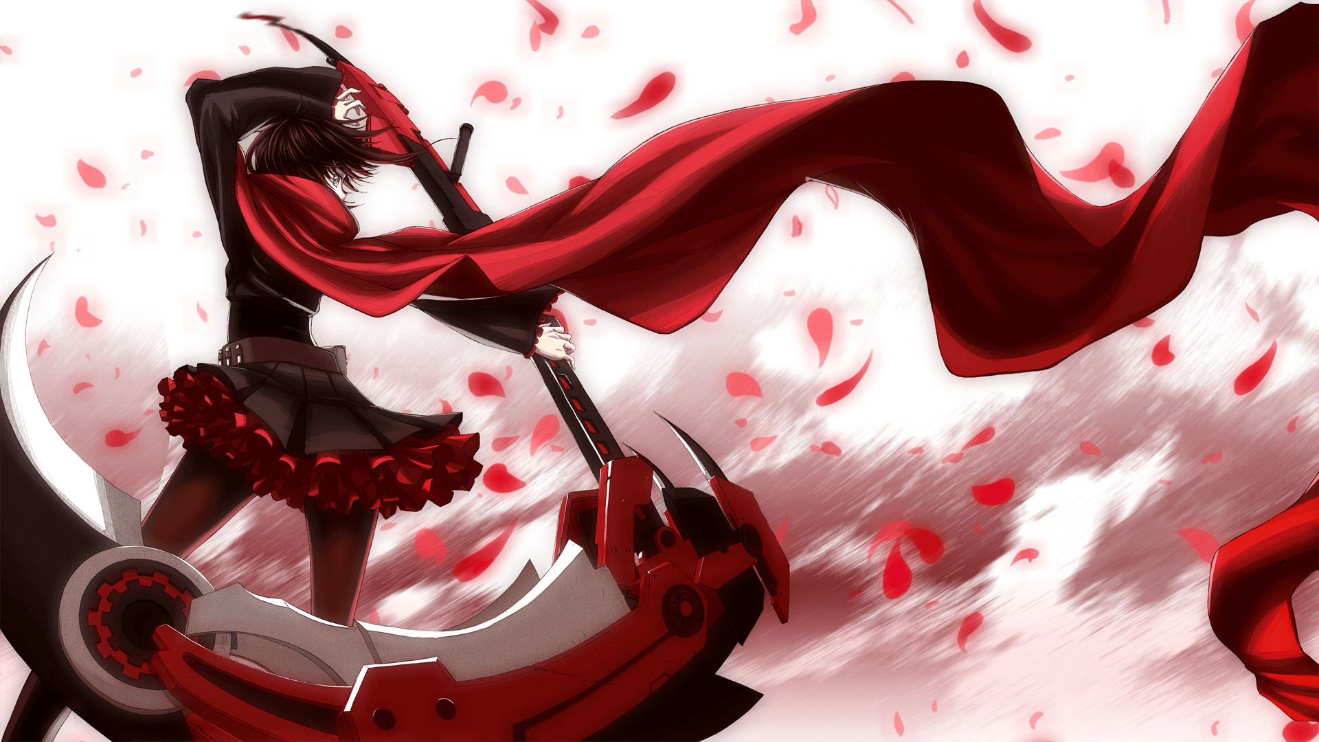Ruby Rose RWBY Wallpapers - Wallpaper Cave