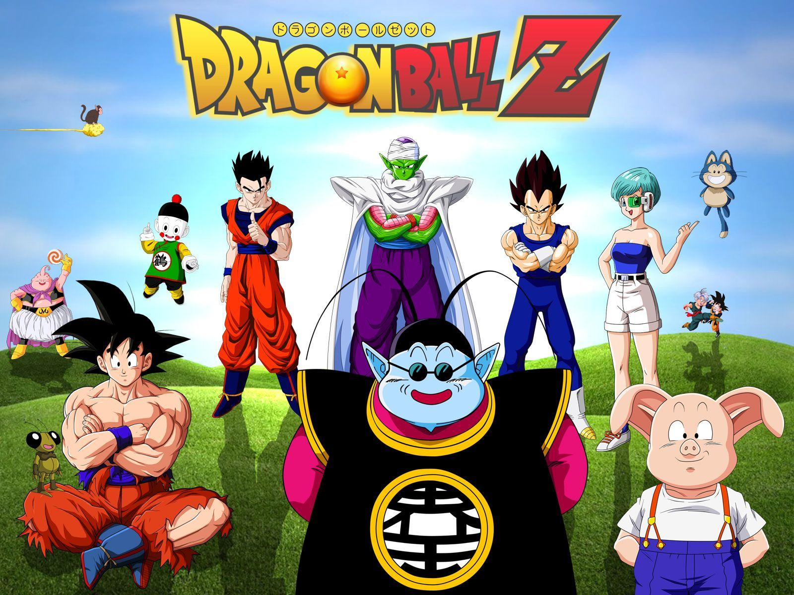 Dragon Ball Z All Characters Wallpapers Free • dodskypict