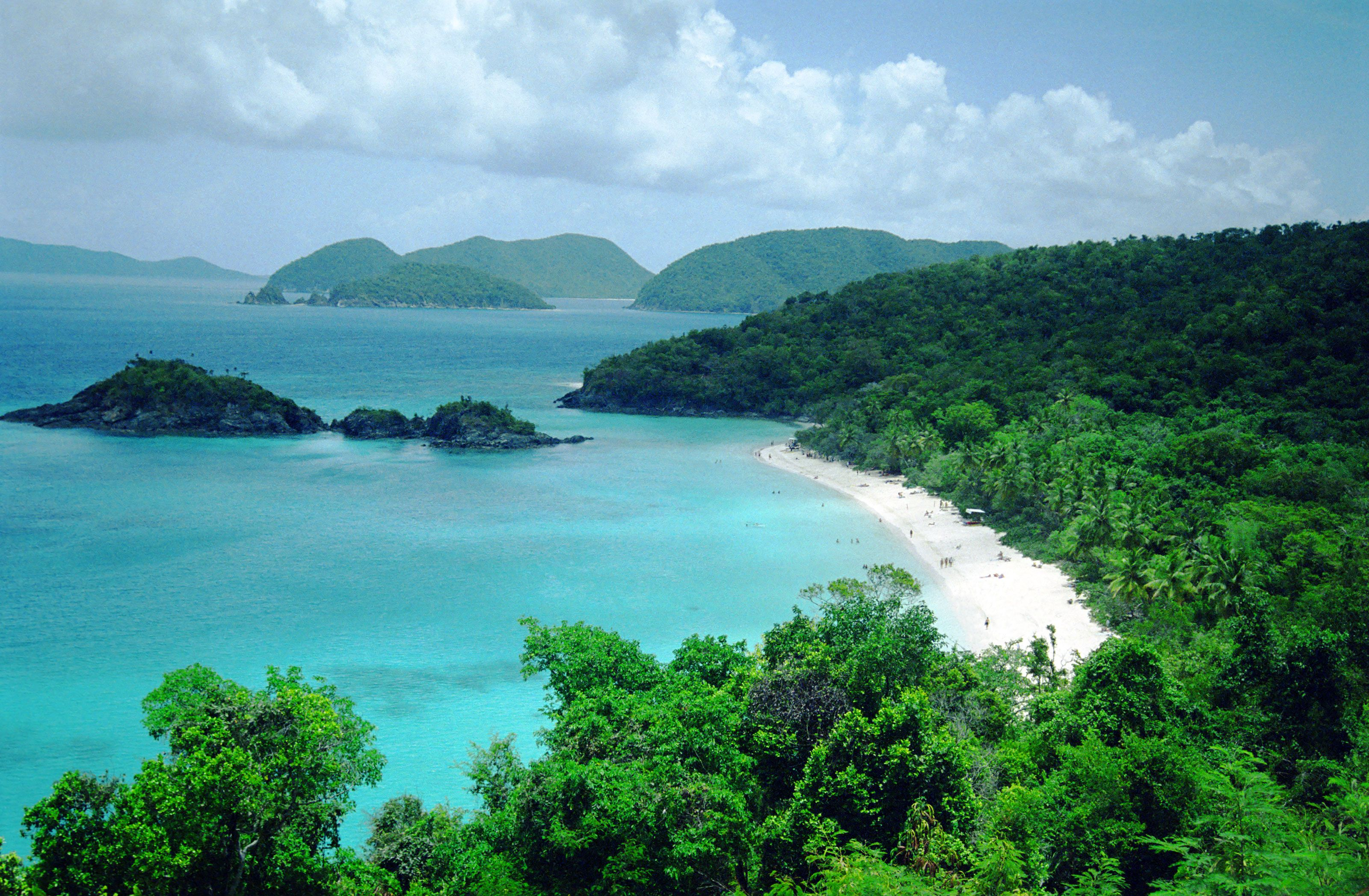 Trunk Bay : Travel Wallpaper and Stock Photo