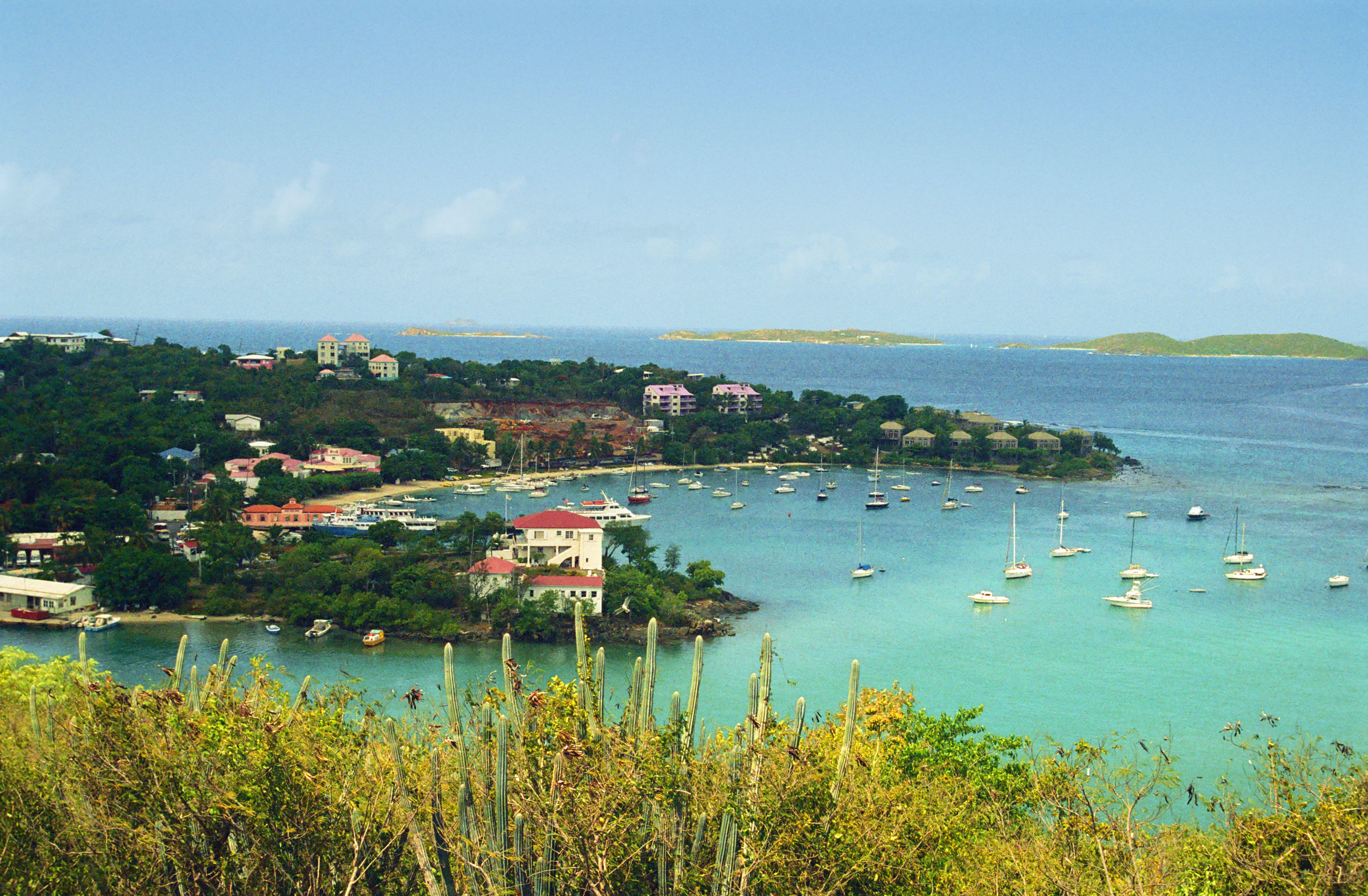 Cruz Bay, St. John : Travel Wallpaper and Stock Photo