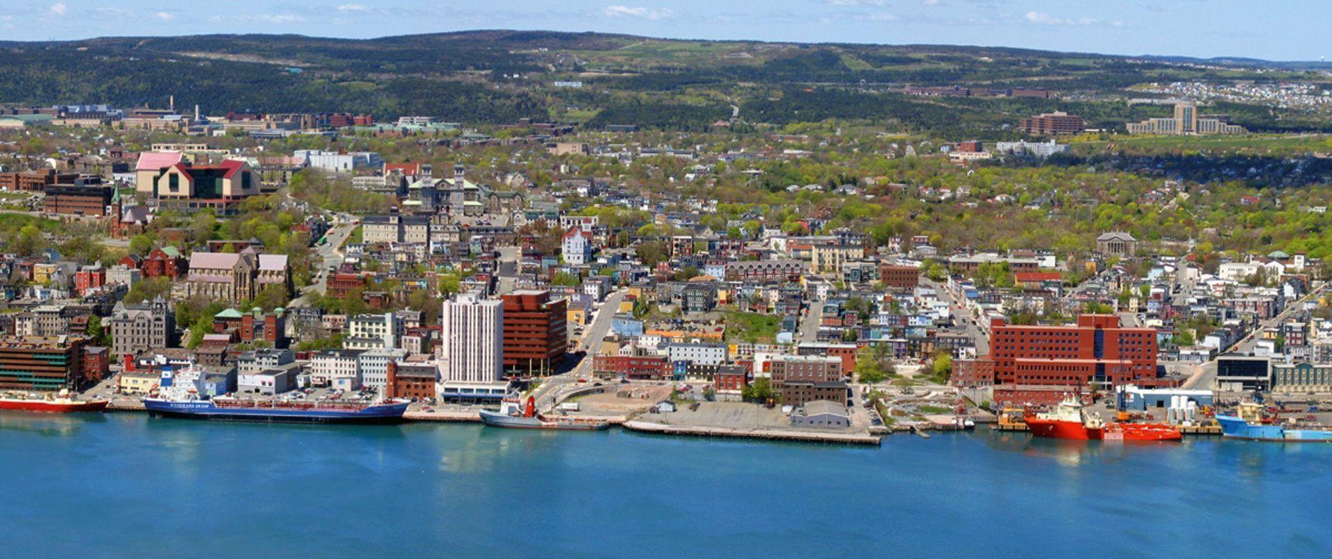 St John Newfoundland Canada Johns Coast Wallpaper For Desktop ...
