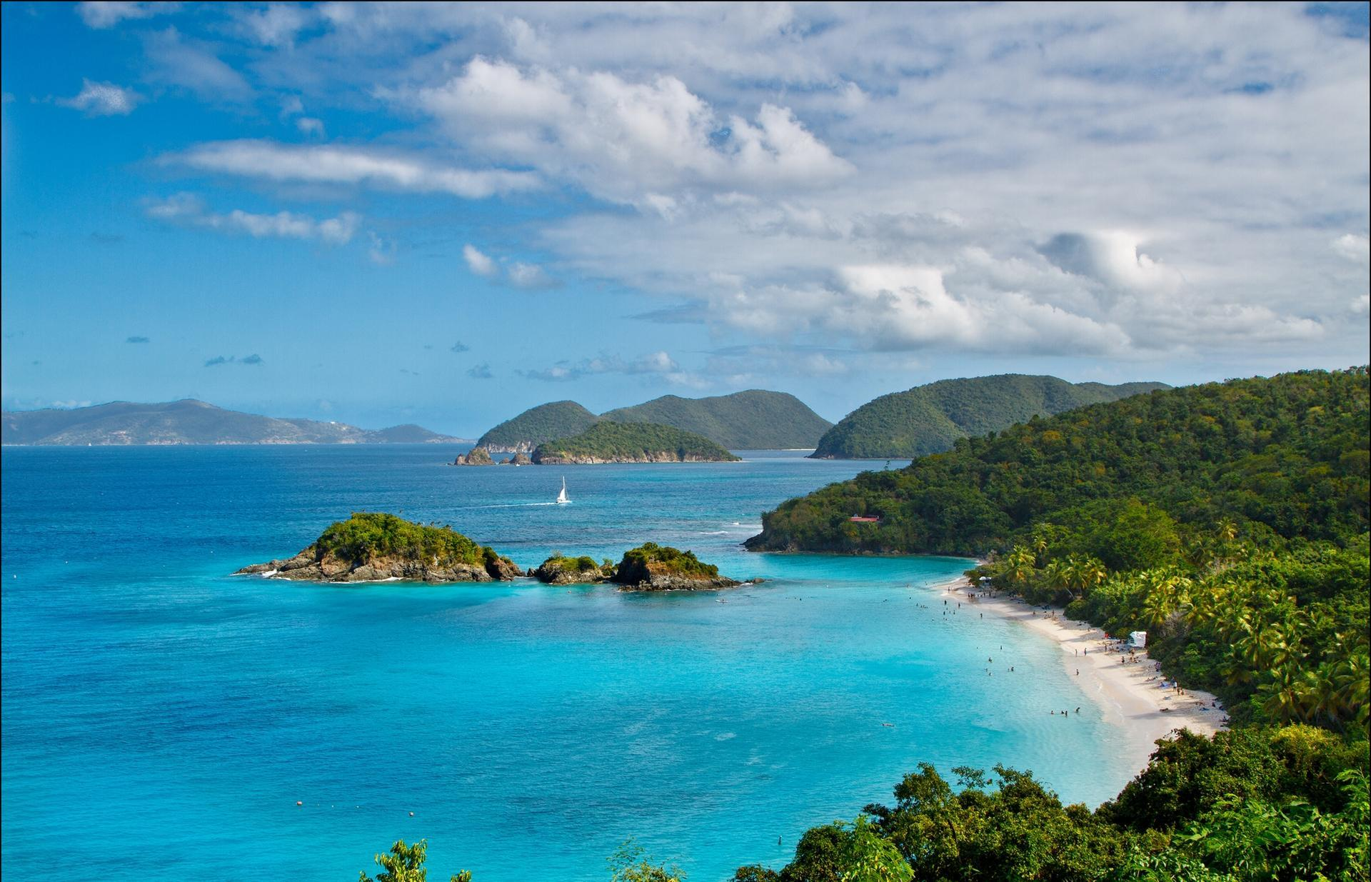 Download 1920x1235 Turquoise Bays On St. John wallpaper