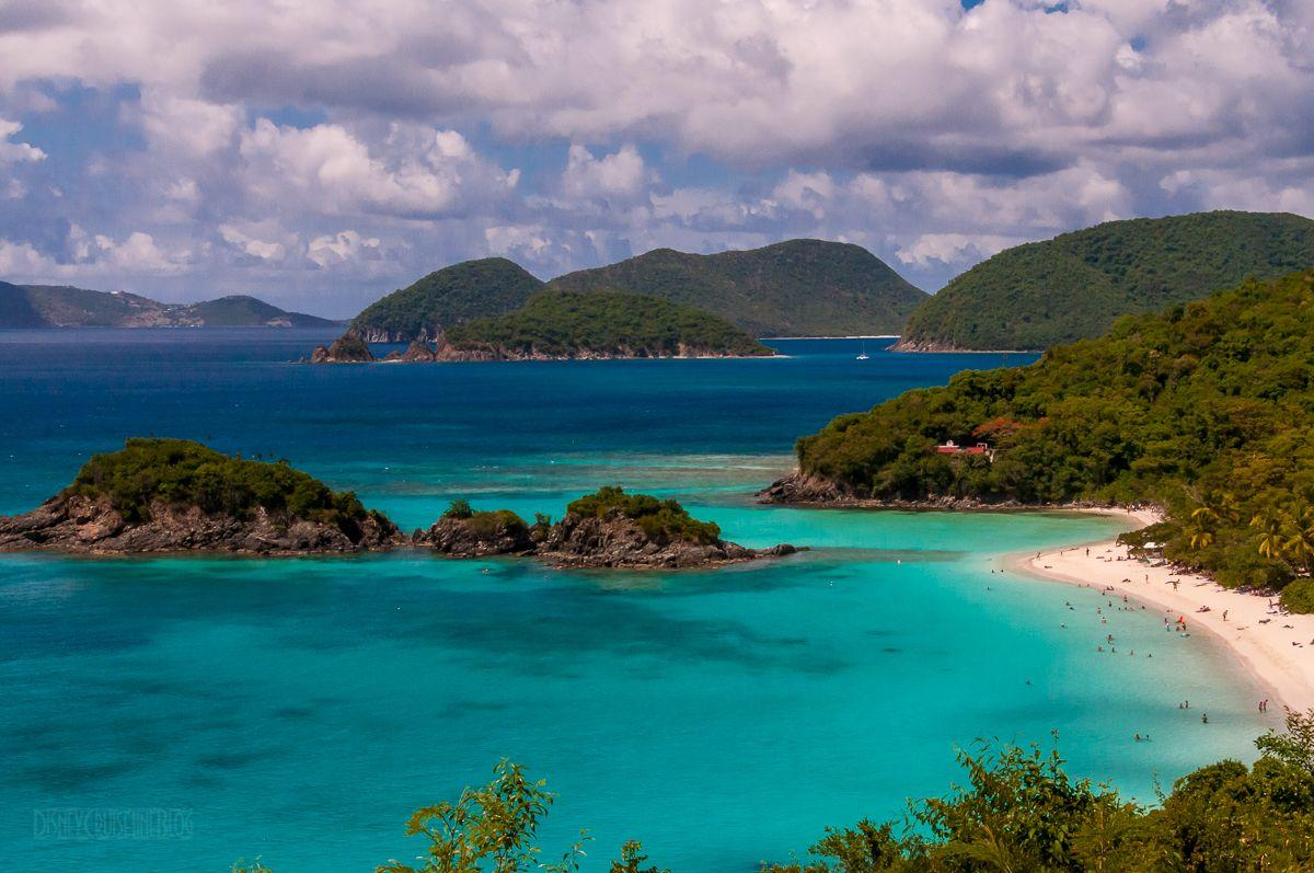 Snorkeling at Trunk Bay in St. John, U.S. Virgin Islands • The ...