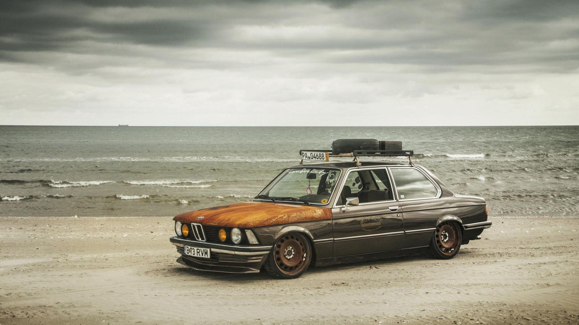 Download Wallpapers 1920x1080 Bmw, E21, Stance, Tuning Full HD