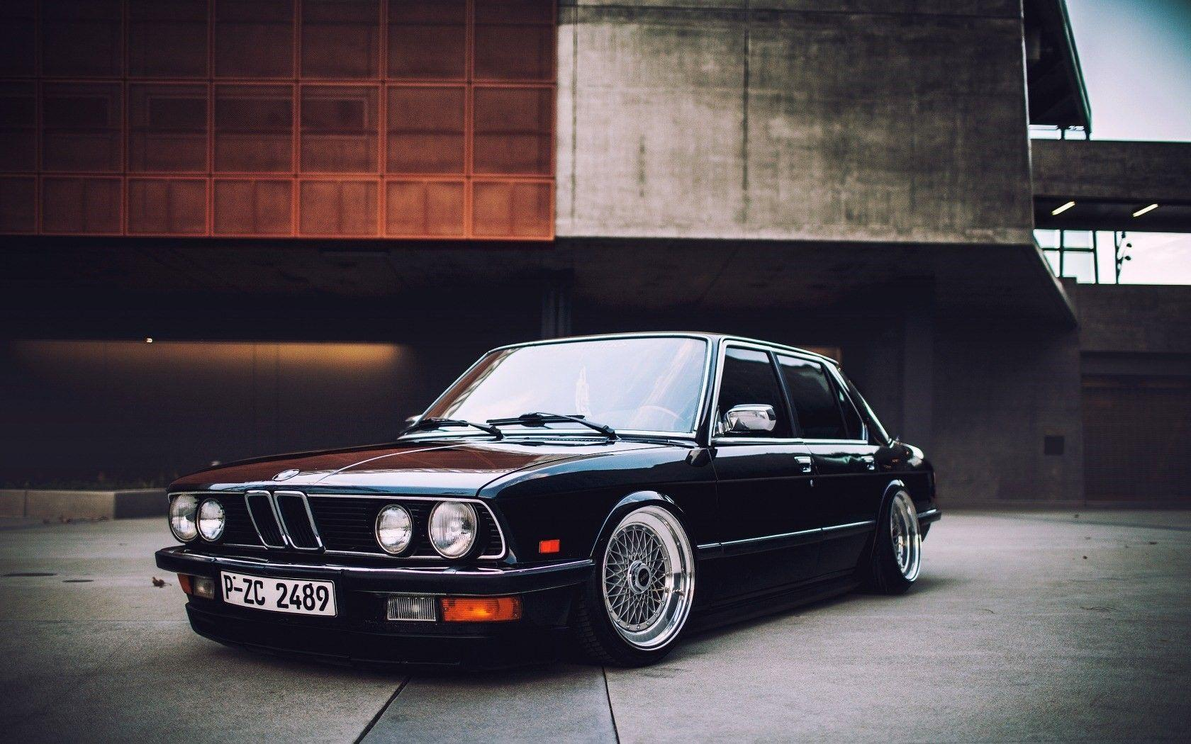 Wallpapers Bmw E21 Stance Low Car Tuning HD Picture Image • OneDSLR