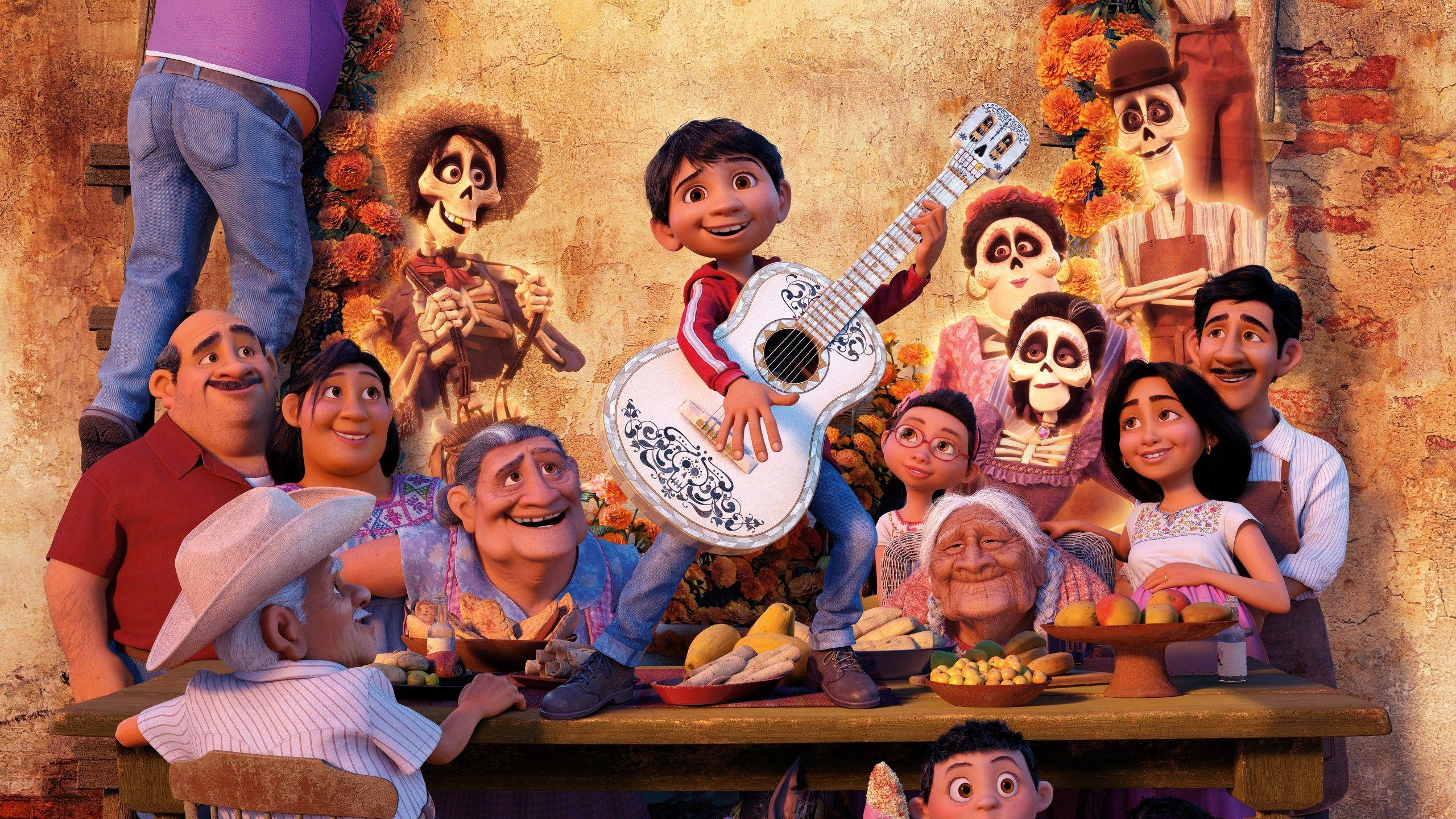 Wallpapers Coco, Pixar, Animation, HD, 5K, Movies,