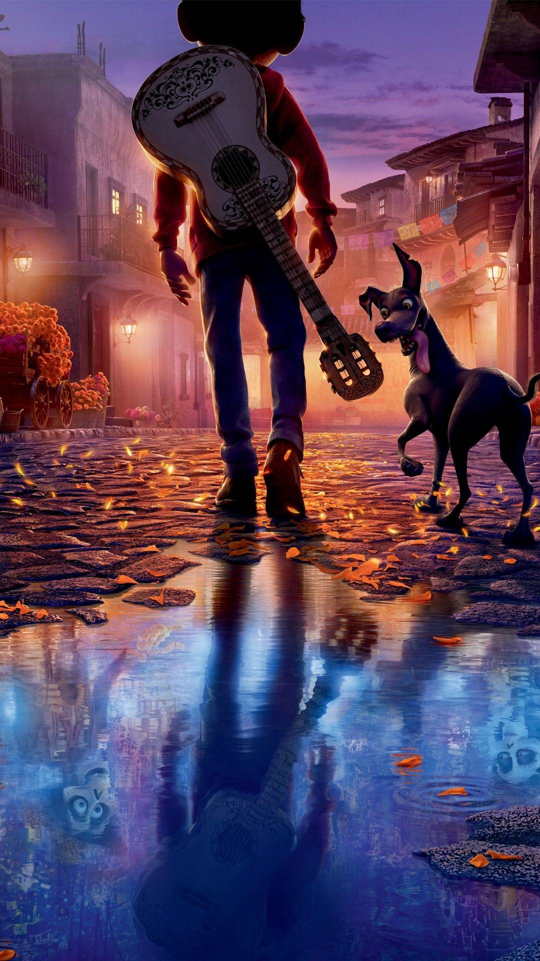 Pixar Coco 2017 4K 8K Wallpapers