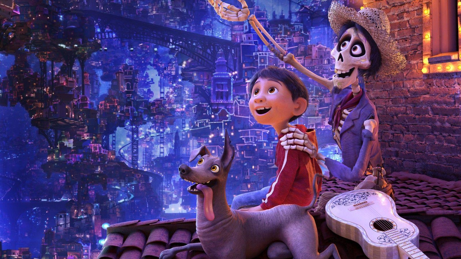 Wallpapers Coco, Miguel, Dante, Hector, Pixar, Animation, 2017, HD