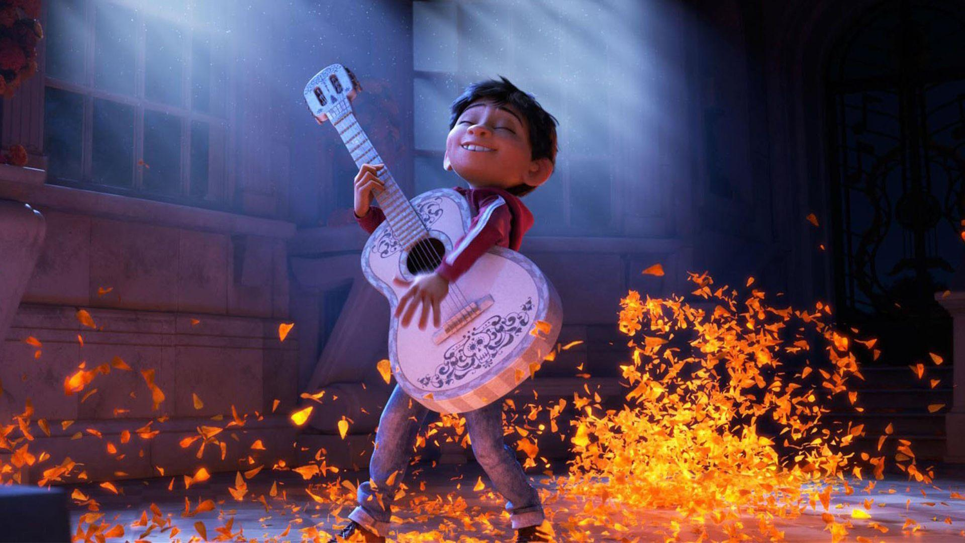 Pixar's Coco Takes Us To The Land Of The Dead In Stunning First