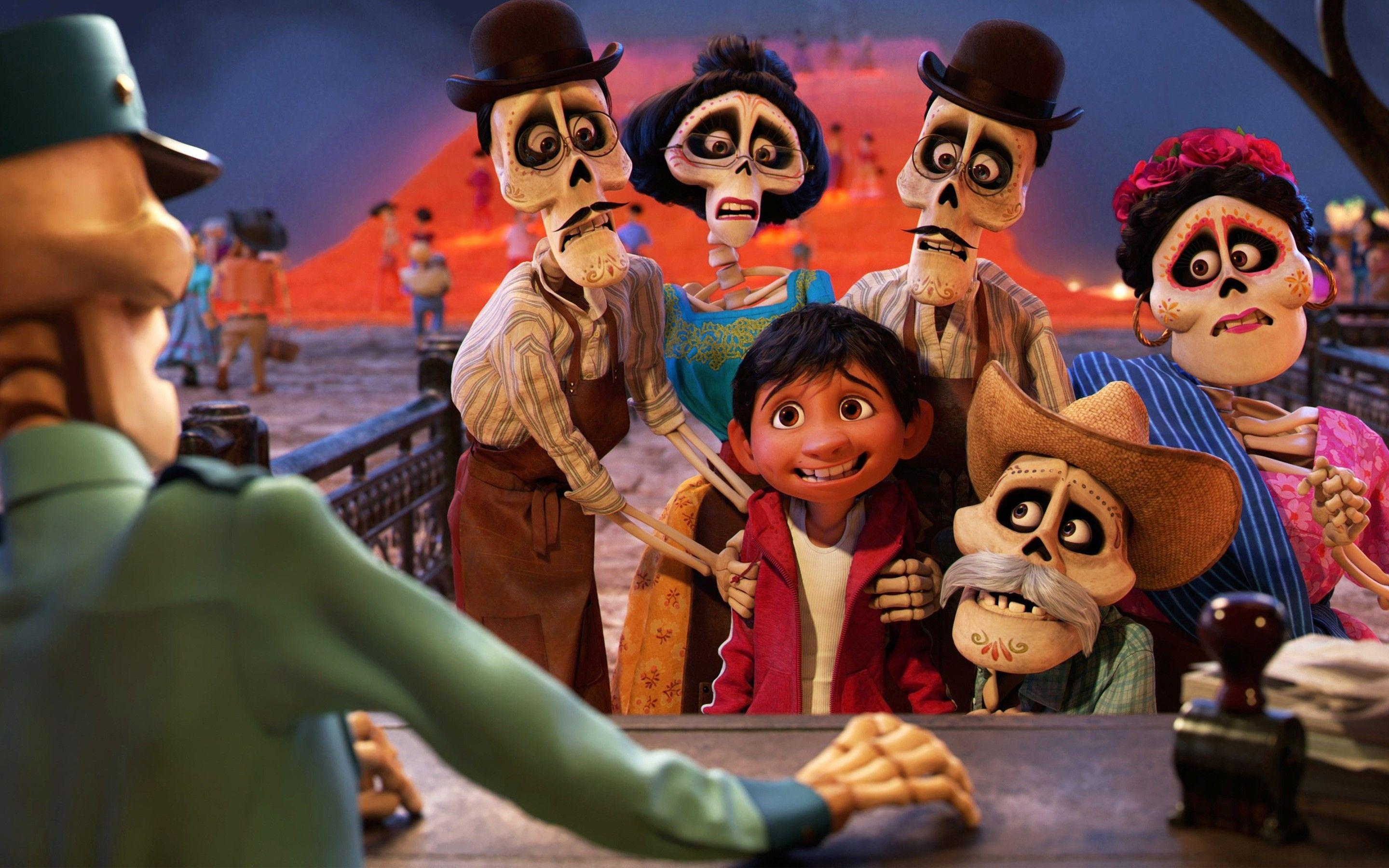 Pixar Coco 2017 Movie Wallpapers