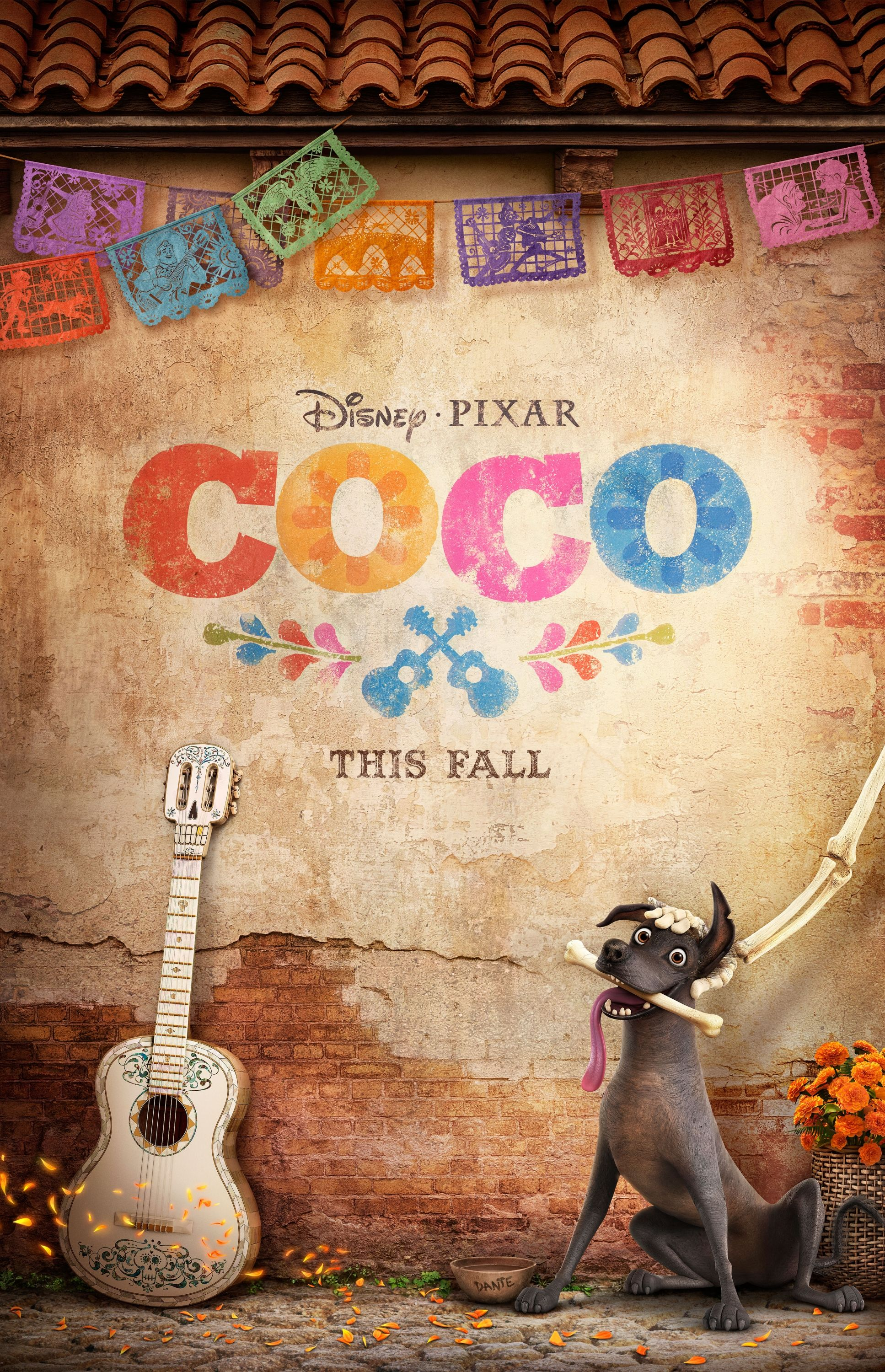 First Poster For Disney Pixar's 'Coco' : movies