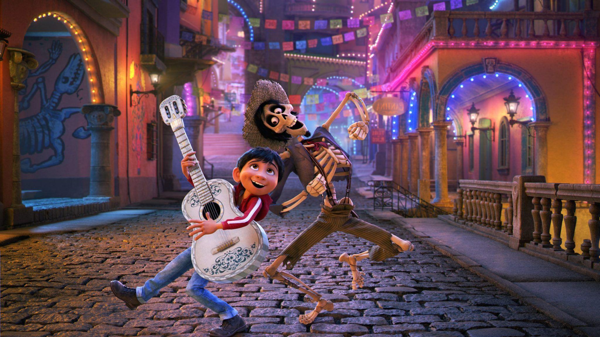 Pixar Coco Miguel 4K