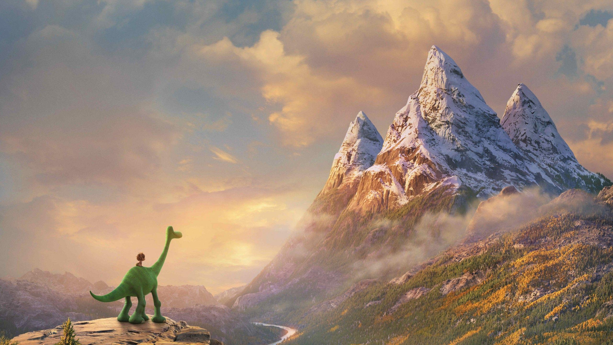 Wallpapers The Good Dinosaur, Pixar, Animation, Movies,