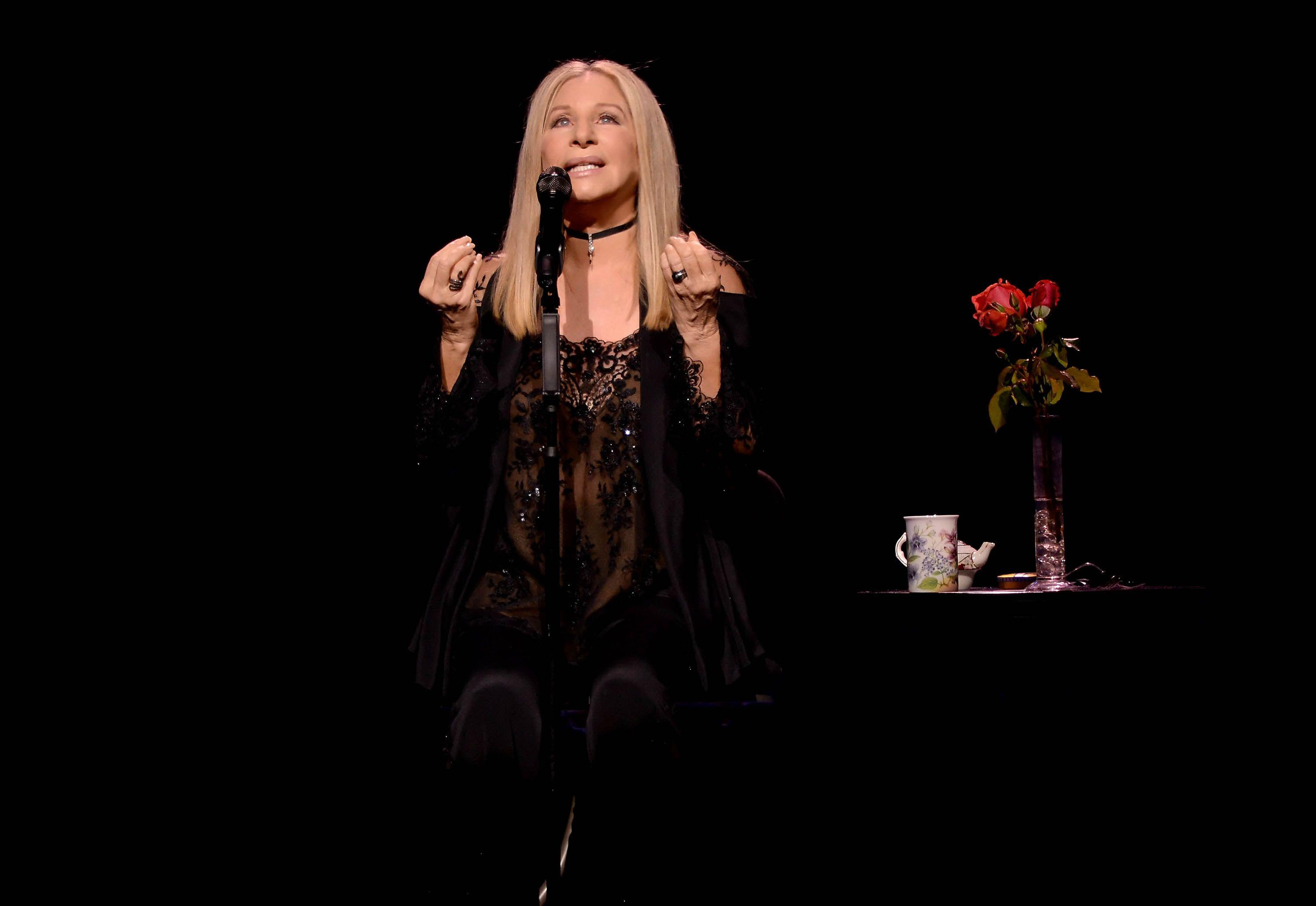 Barbra Streisand Returns to the New York Concert Stage