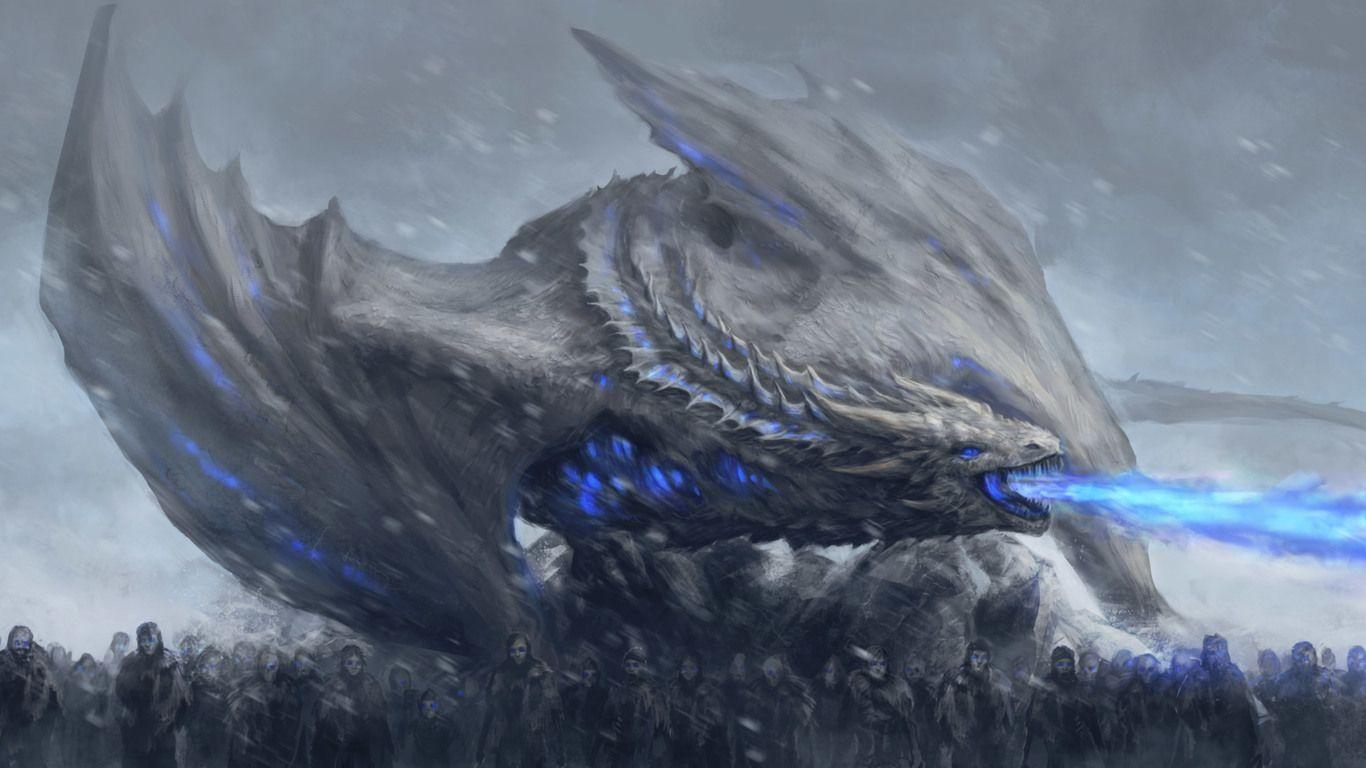 Game Of Thrones Dragon Wallpapers Wallpaper Cave