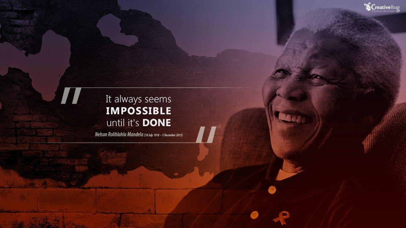 Nelson Mandela Quotes Wallpapers Wallpaper Cave