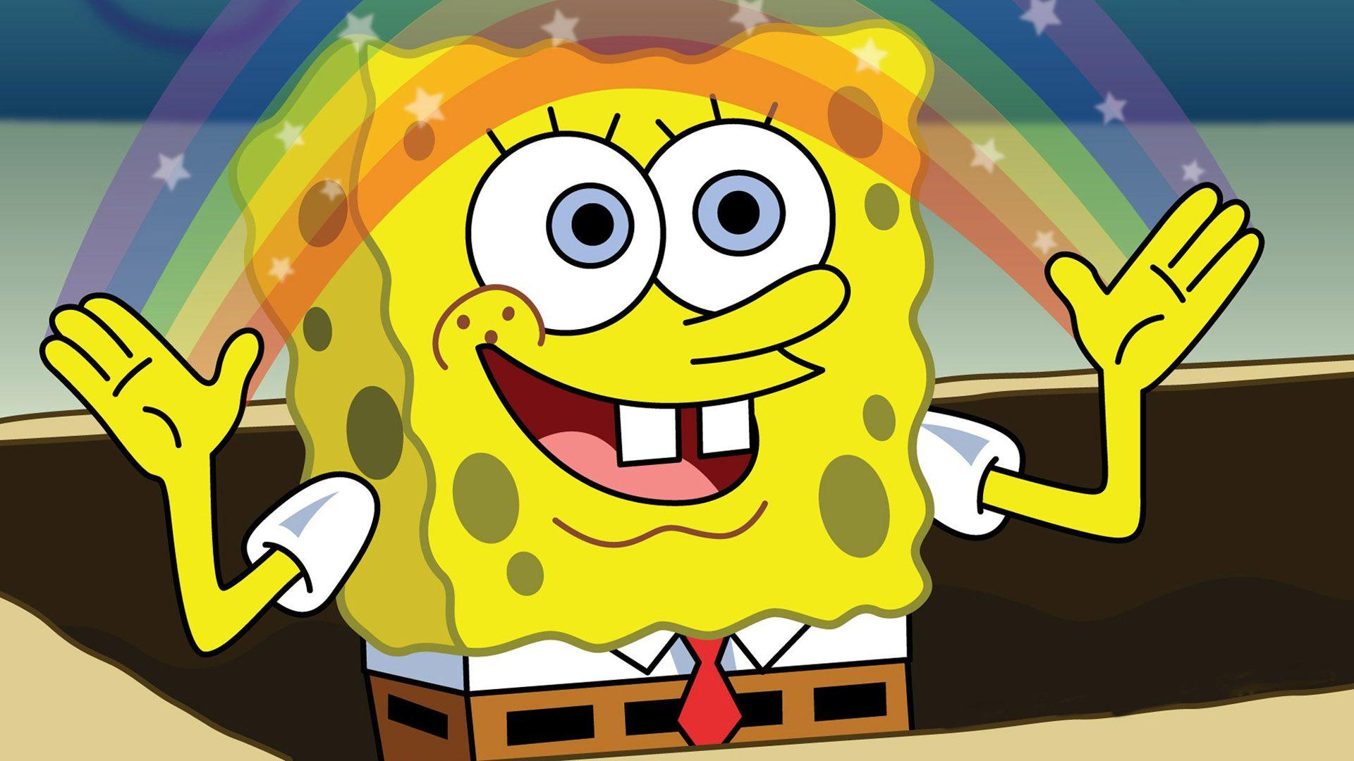 Black And Yellow Spongebob 27 Backgrounds Wallpapers