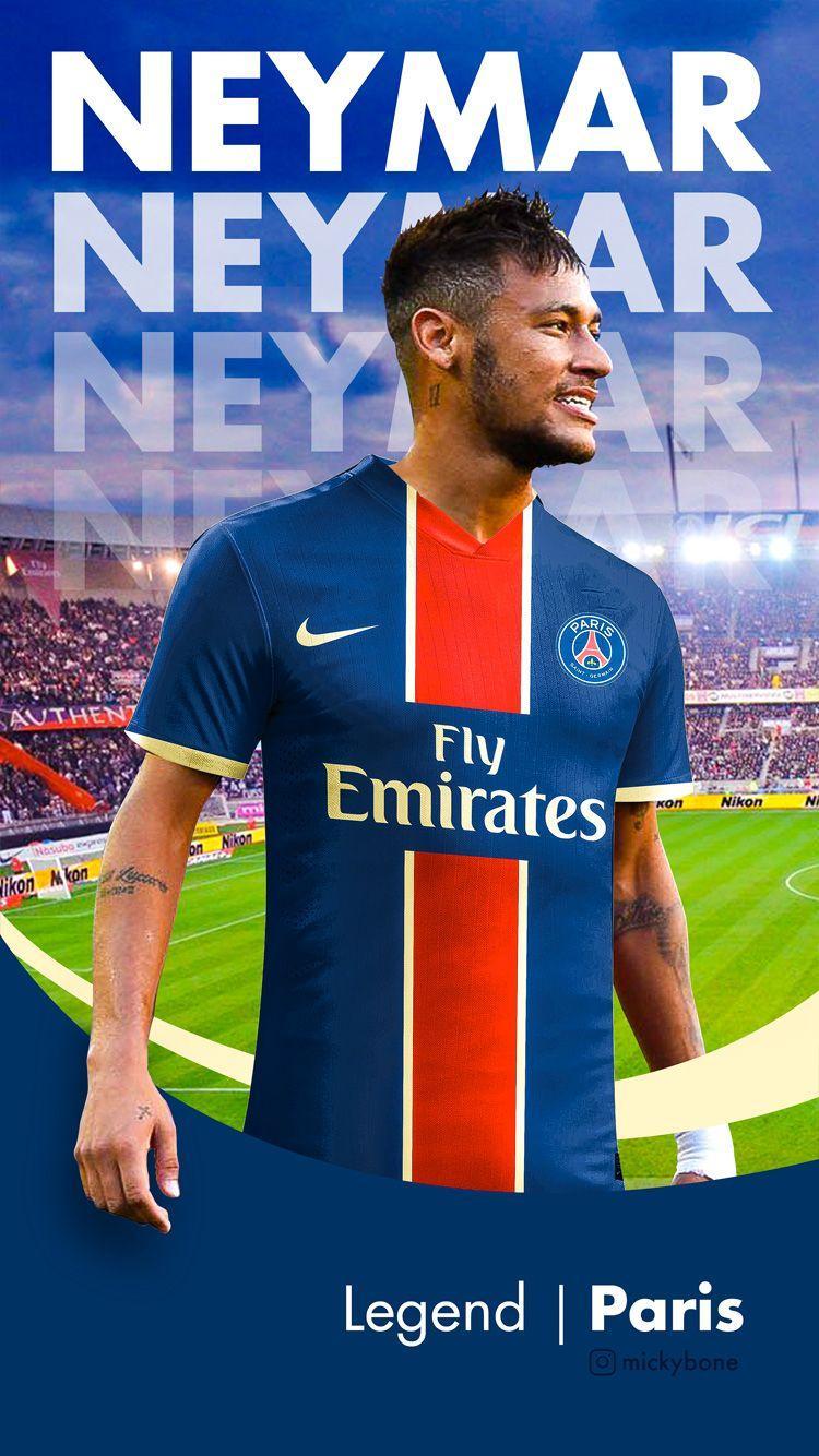 Neymar In Psg Wallpapers Wallpaper Cave