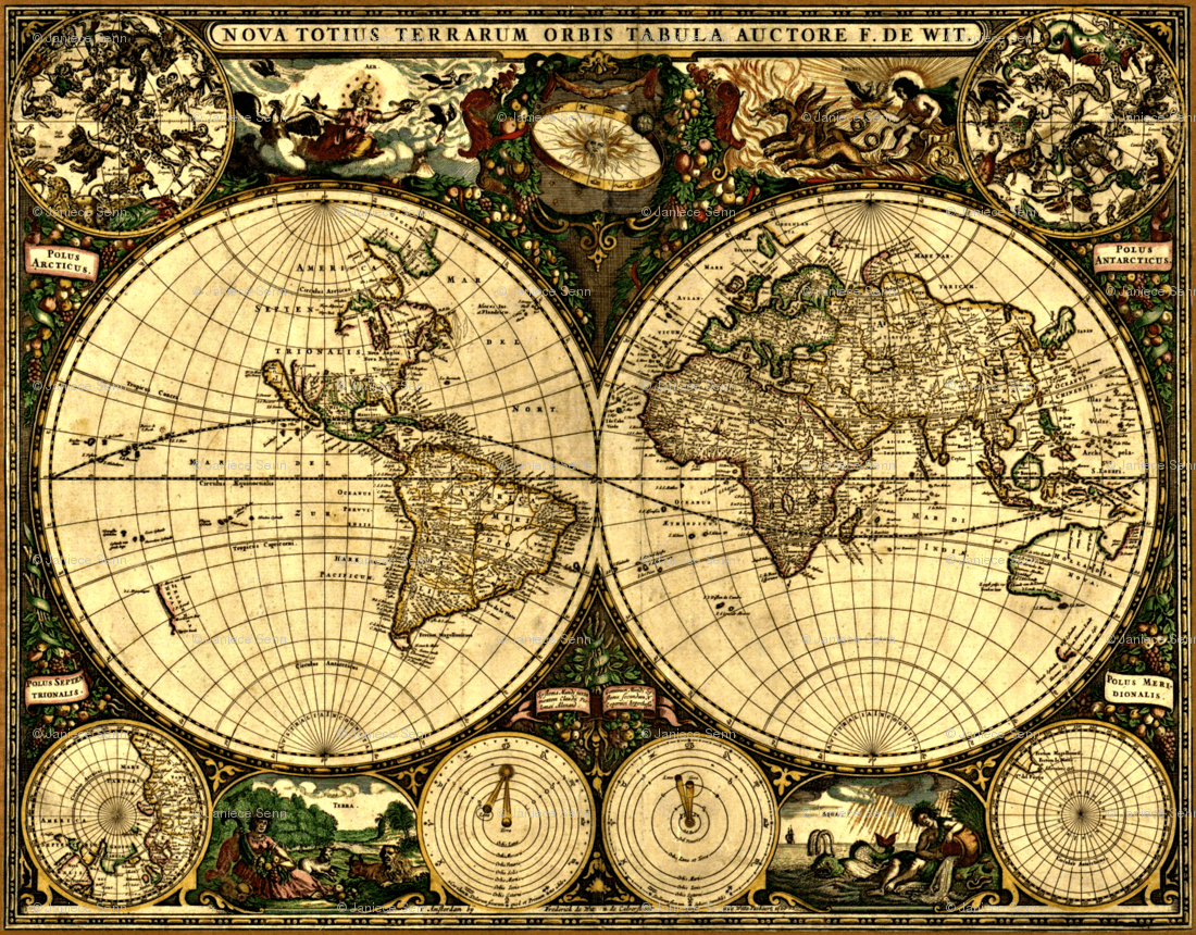 Vintage maps wallpapers wallpaper cave old world map wallpaper with besttabletfor gumiabroncs Choice Image