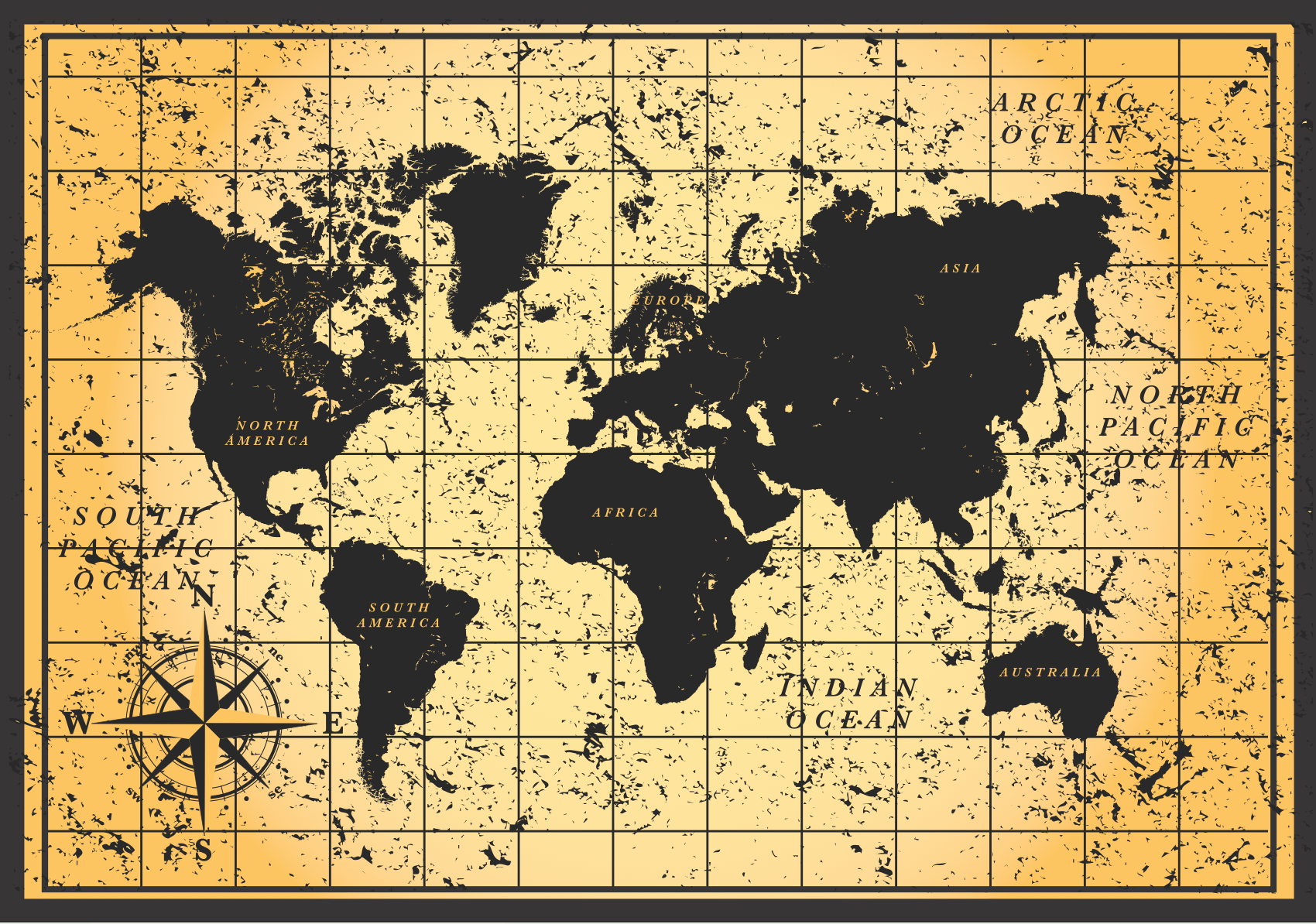 Vintage Maps Wallpapers