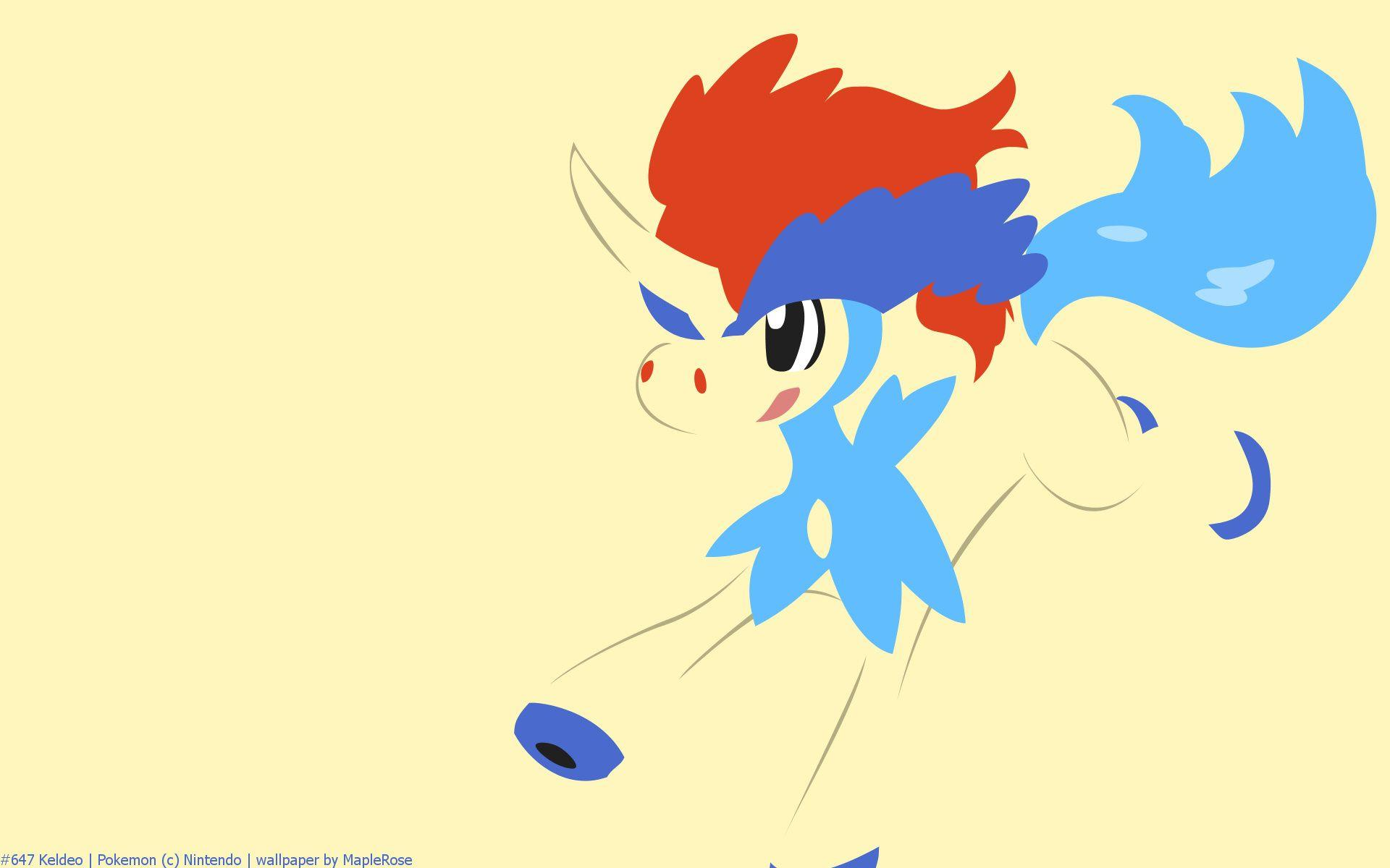 Keldeo Pokemon HD Wallpapers - Free HD wallpapers, Iphone, Samsung ...