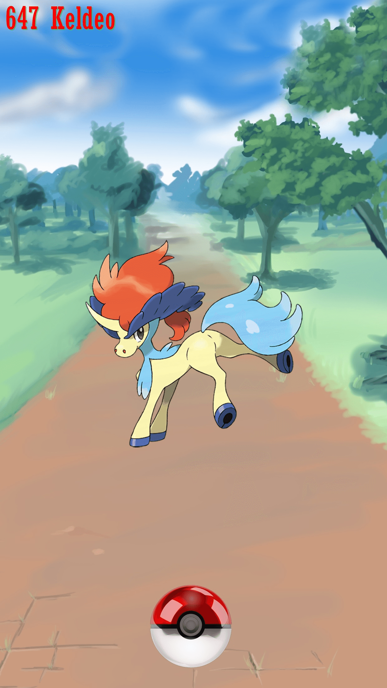 647 Street Pokeball Keldeo | Wallpaper