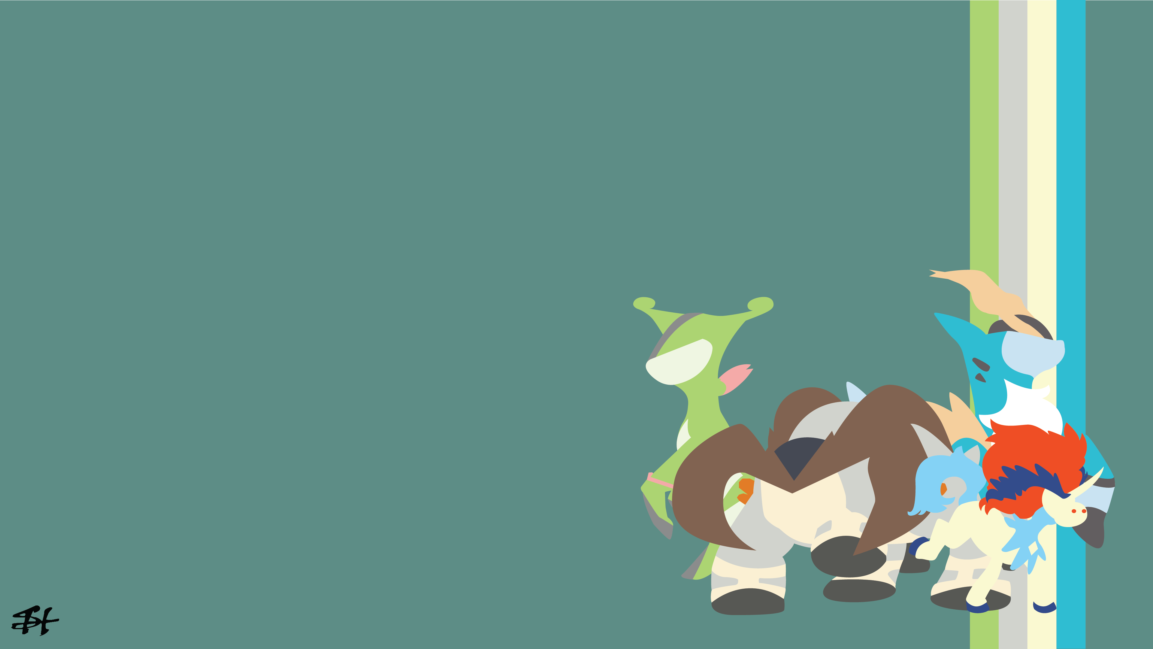 2 Cobalion (Pokémon) HD Wallpapers | Background Images - Wallpaper Abyss
