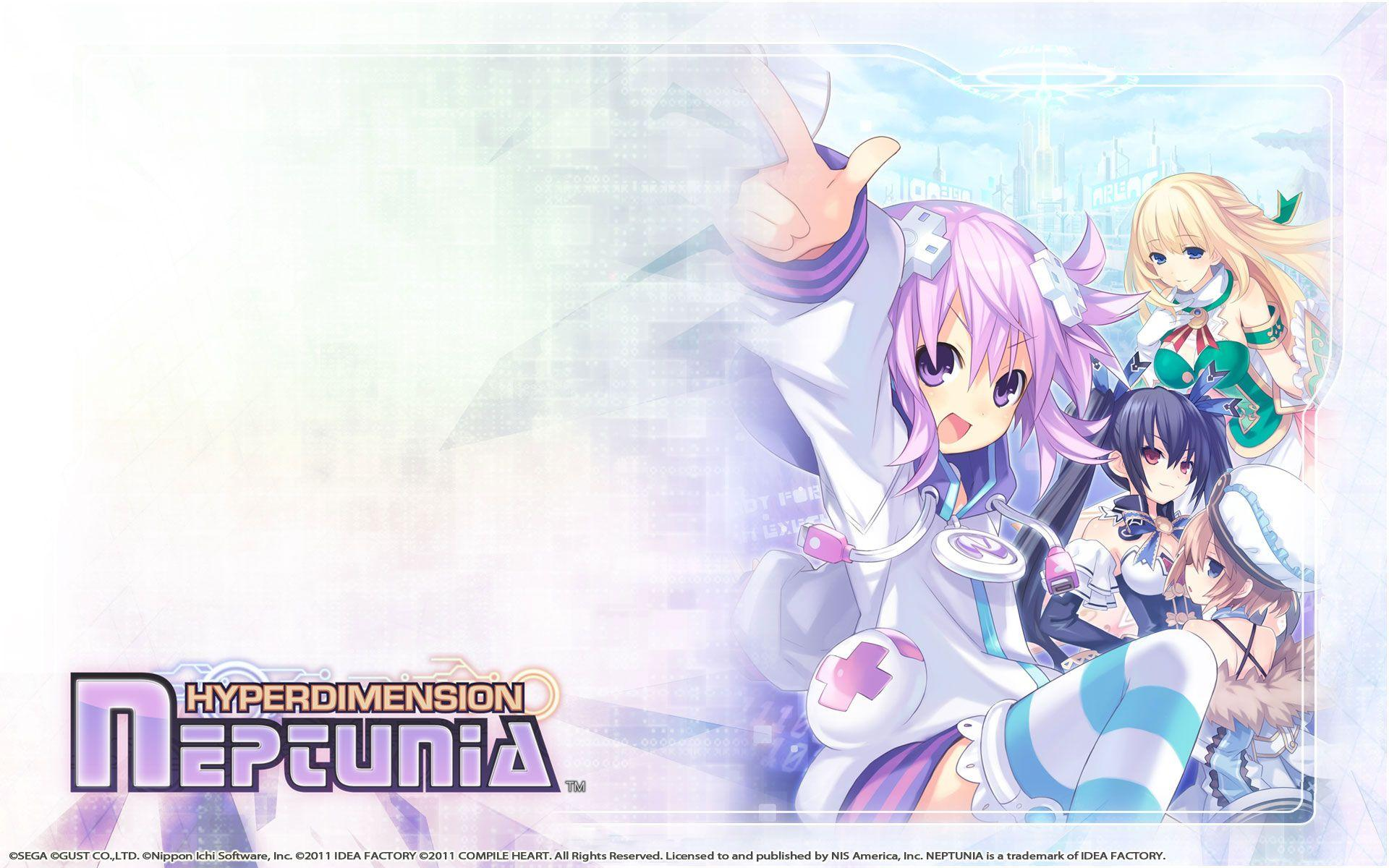 Hyperdimension Neptunia Wallpapers Wallpaper Cave