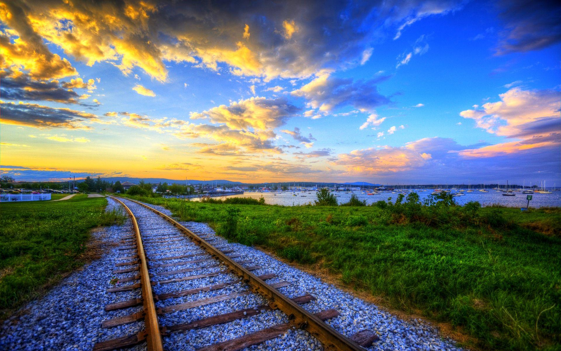 Train Track Wallpapers HD 37974 1920x1200 px ~ HDWallSource