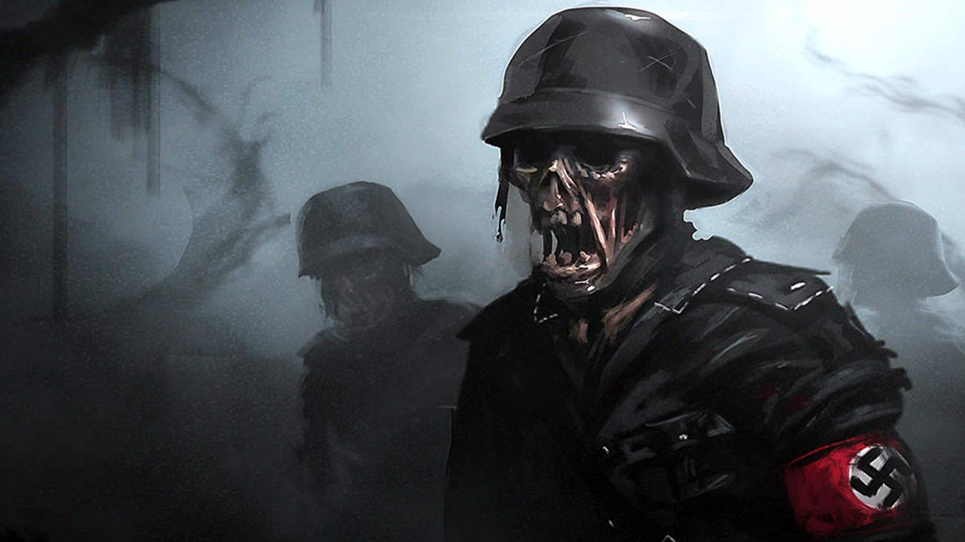 Call Of Duty Ww2 Zombies Wallpapers Wallpaper Cave