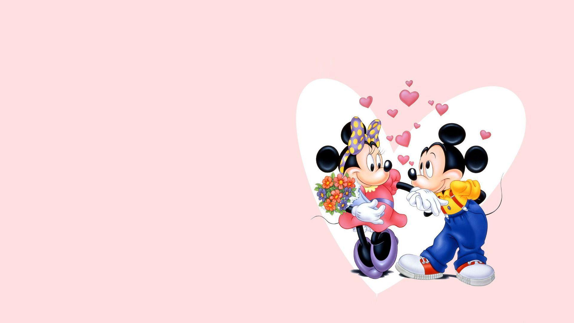Mickey And Minnie Mouse Wallpapers HD 07988