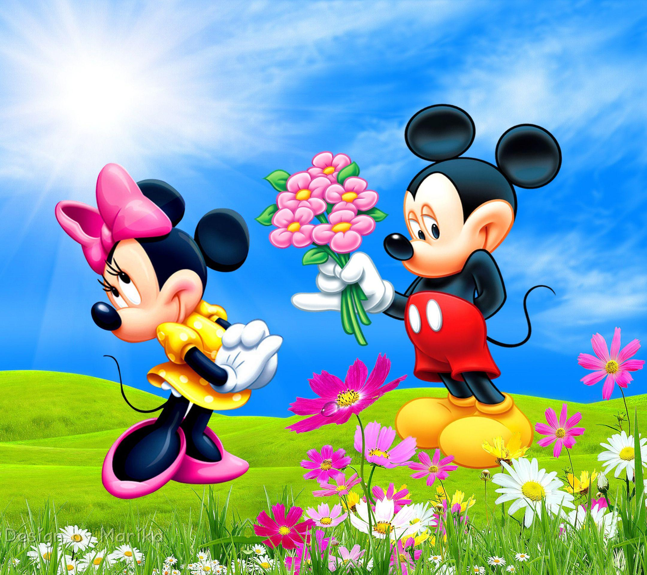 Image of Mickey And Minnie Wallpapers Hd