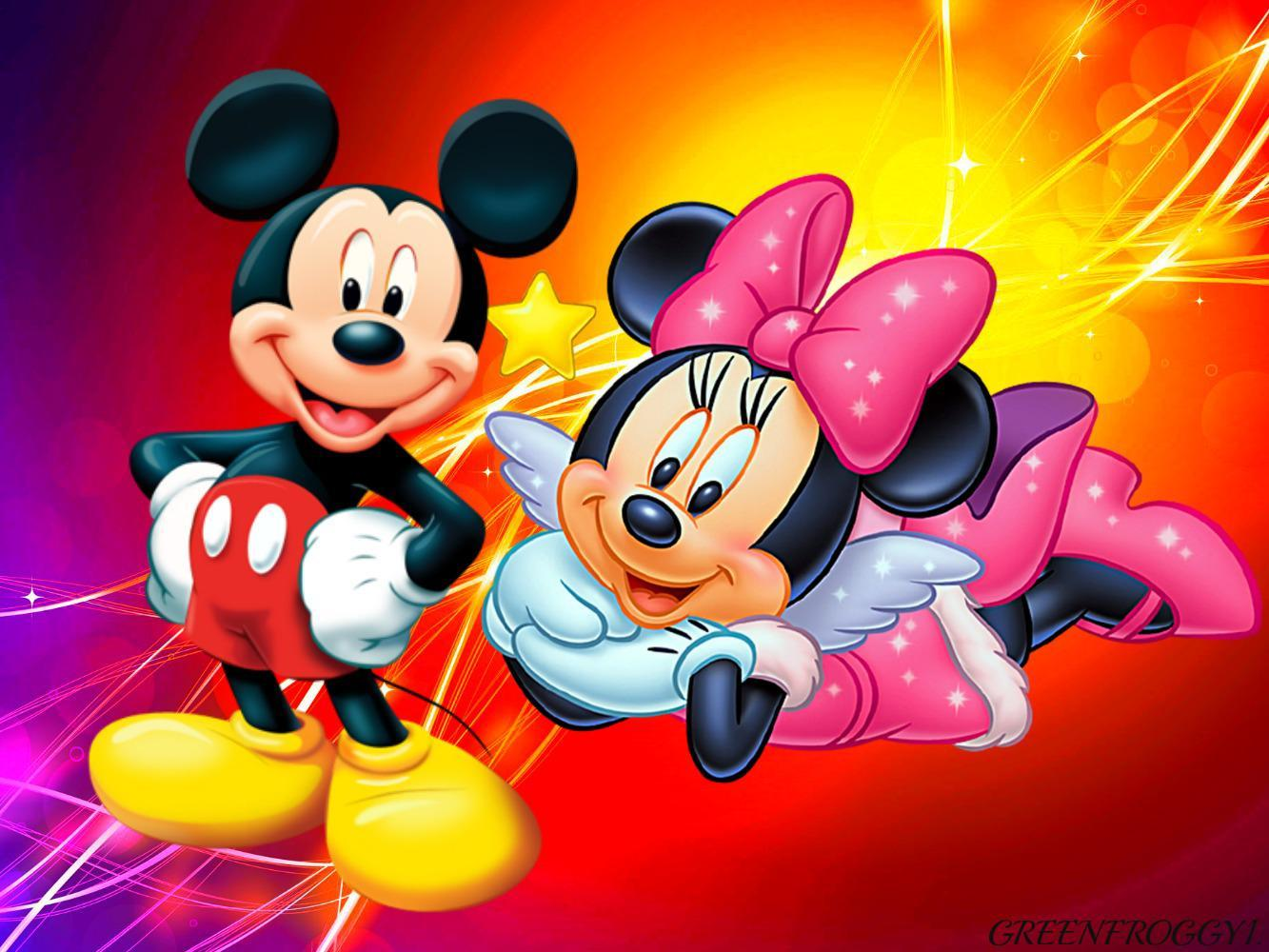 Mickey and Minnie Winter Wallpapers