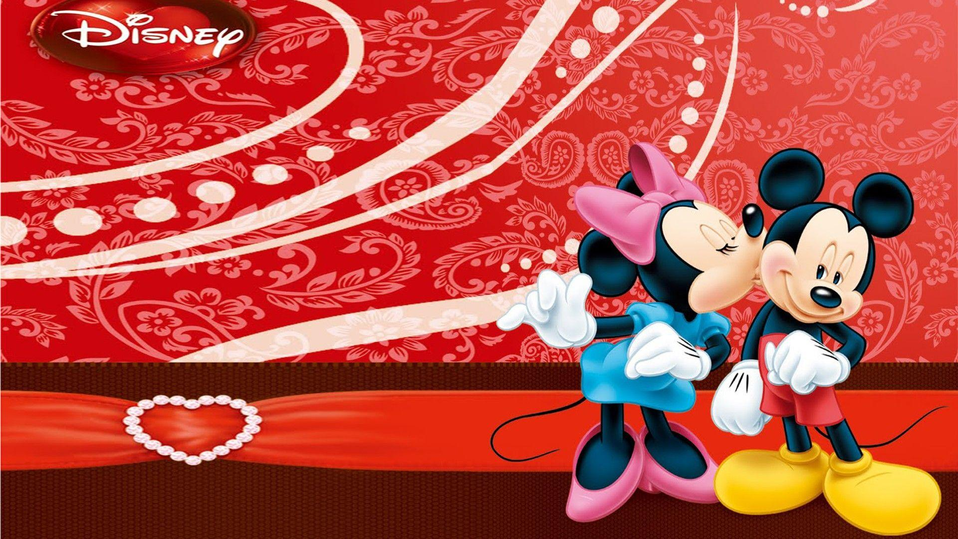 Mickey & Minnie Mouse Kiss Wallpapers For Mobile : Wallpapers13