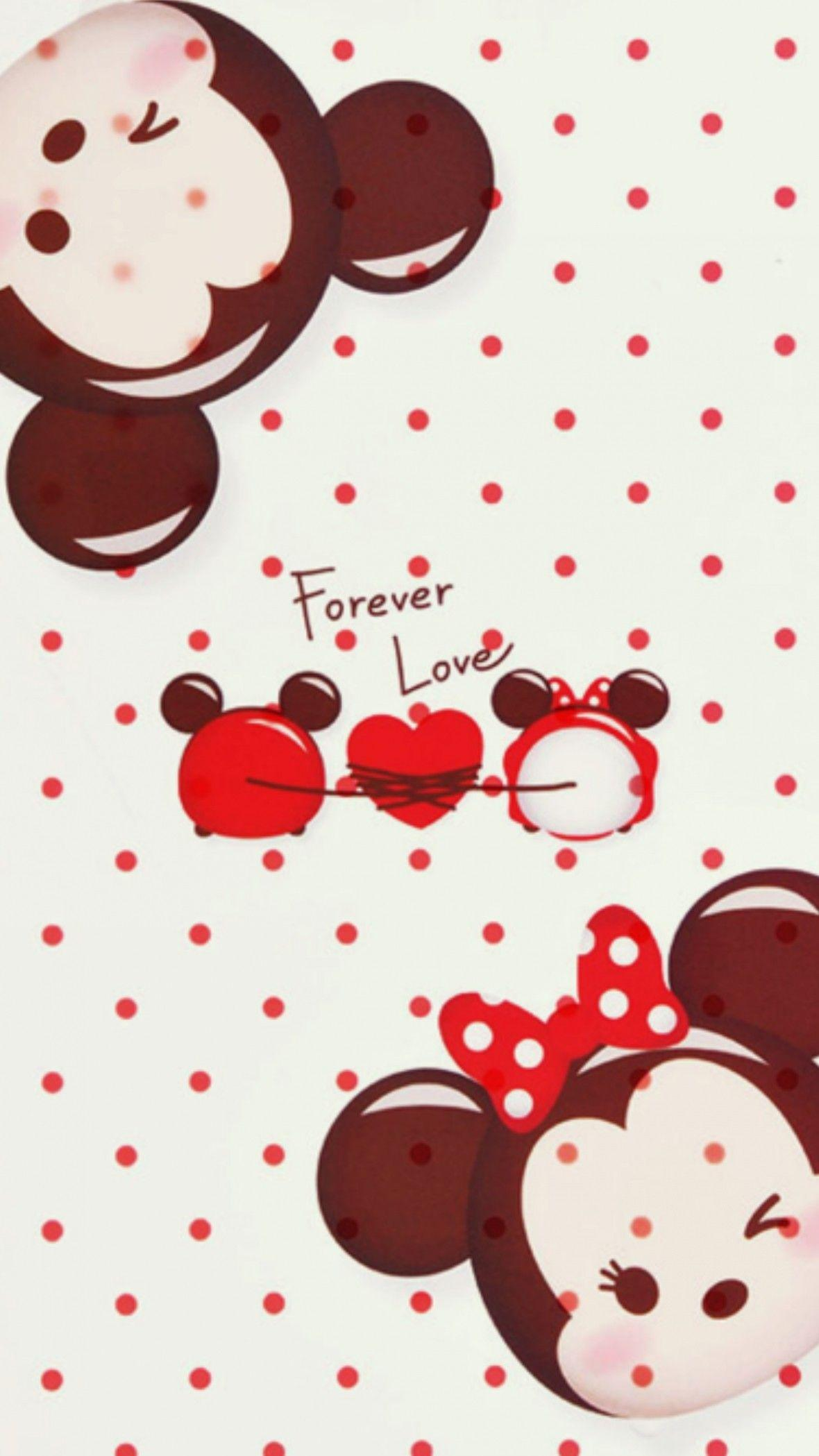 Mickey and Minnie Mouse Wallpapers ·①
