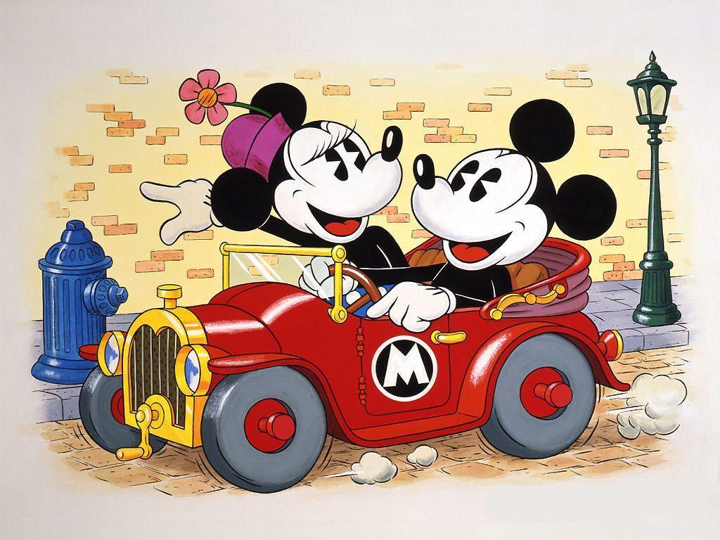 Wallpapers Of Mickey Mouse And Minnie