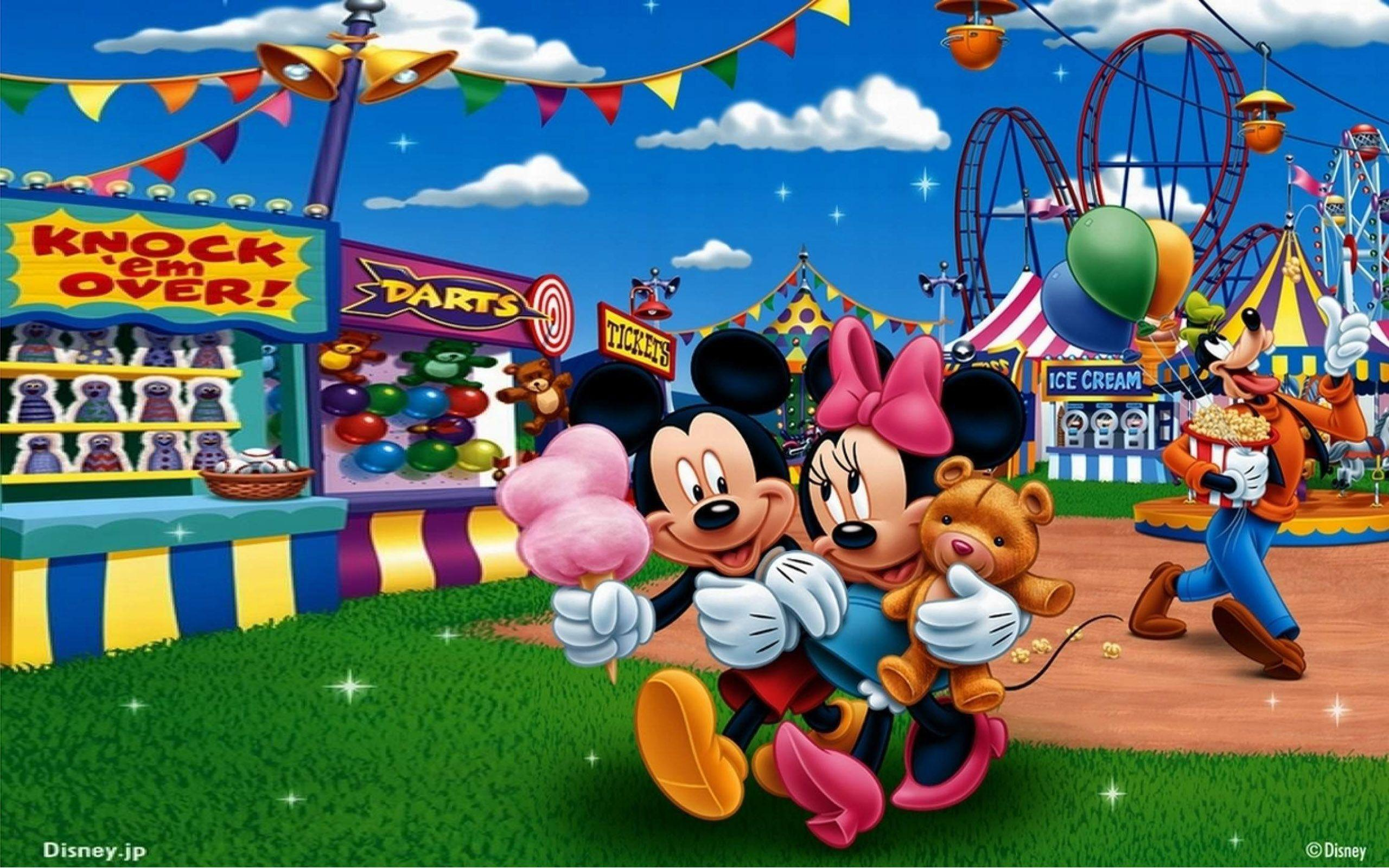 Mickey And Minnie In Circus Hd Wallpapers : Wallpapers13