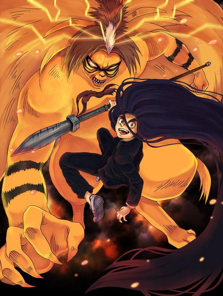 Ushio and Tora by e