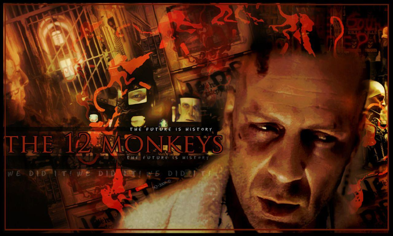 12 monkeys Wallpaper and Background | 1280x768 | ID:499131
